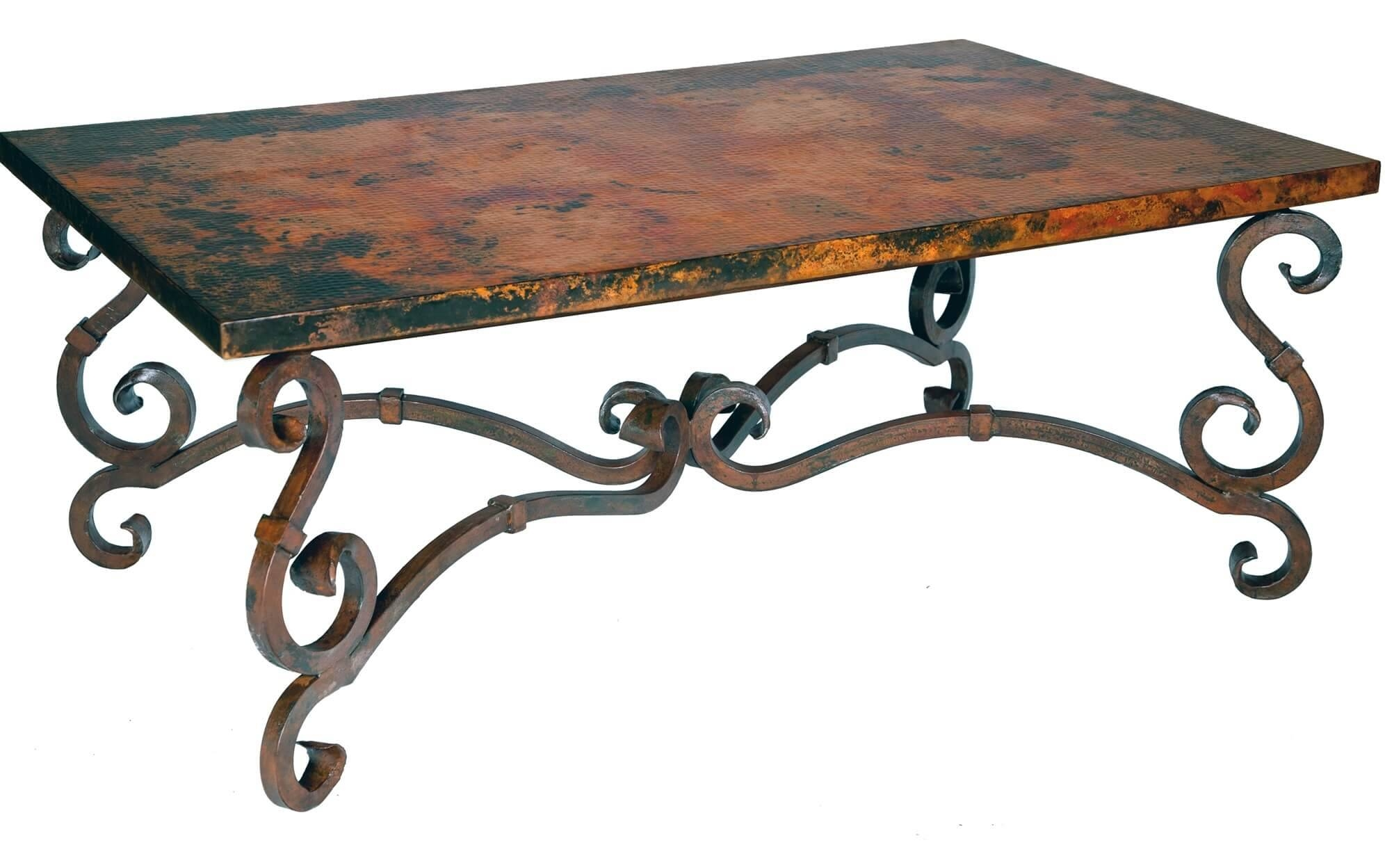Iron Coffee Tables for Wrought Iron Coffee Tables (Image 8 of 30)