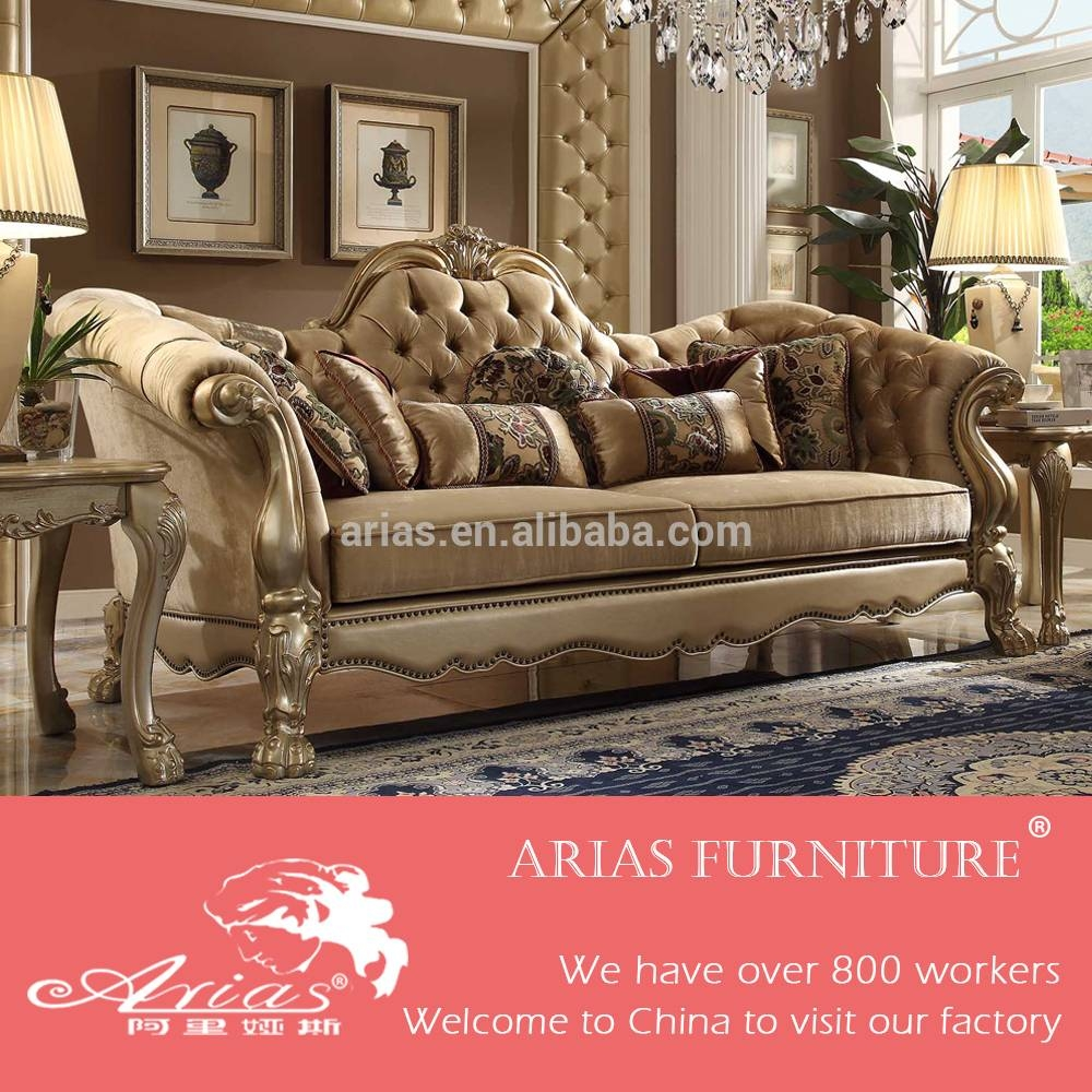 Italian Antique Style Sofa, Italian Antique Style Sofa Suppliers with French Style Sofas (Image 14 of 25)