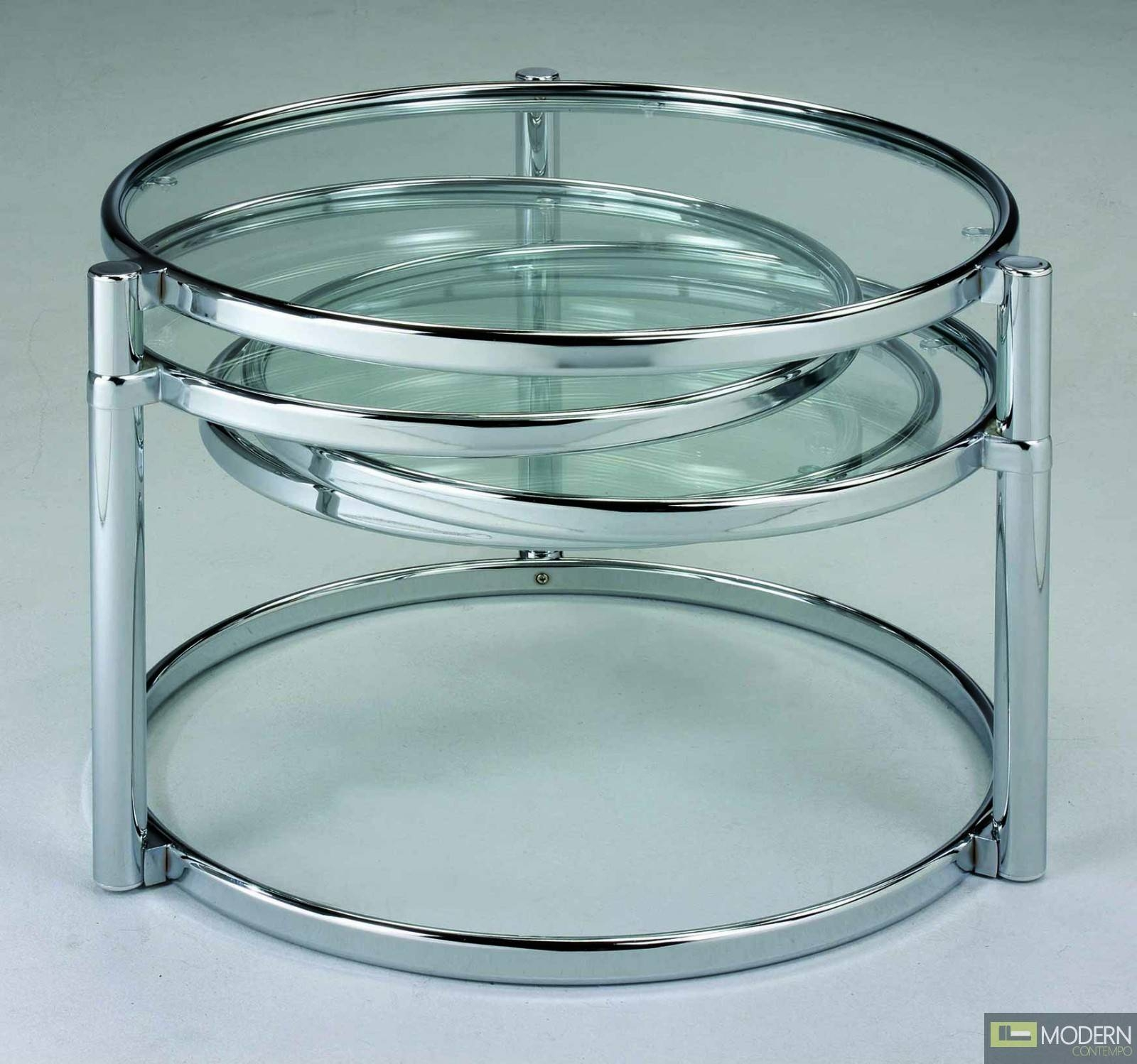 Italian Brass And Glass Swivel Coffee Table At 1Stdibs Tables T regarding Round Swivel Coffee Tables (Image 16 of 30)