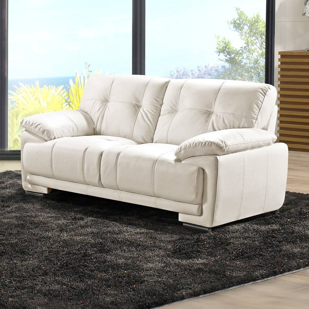 Ivory Leather Sofas – Radiovannes With Ivory Leather Sofas (View 17 of 30)