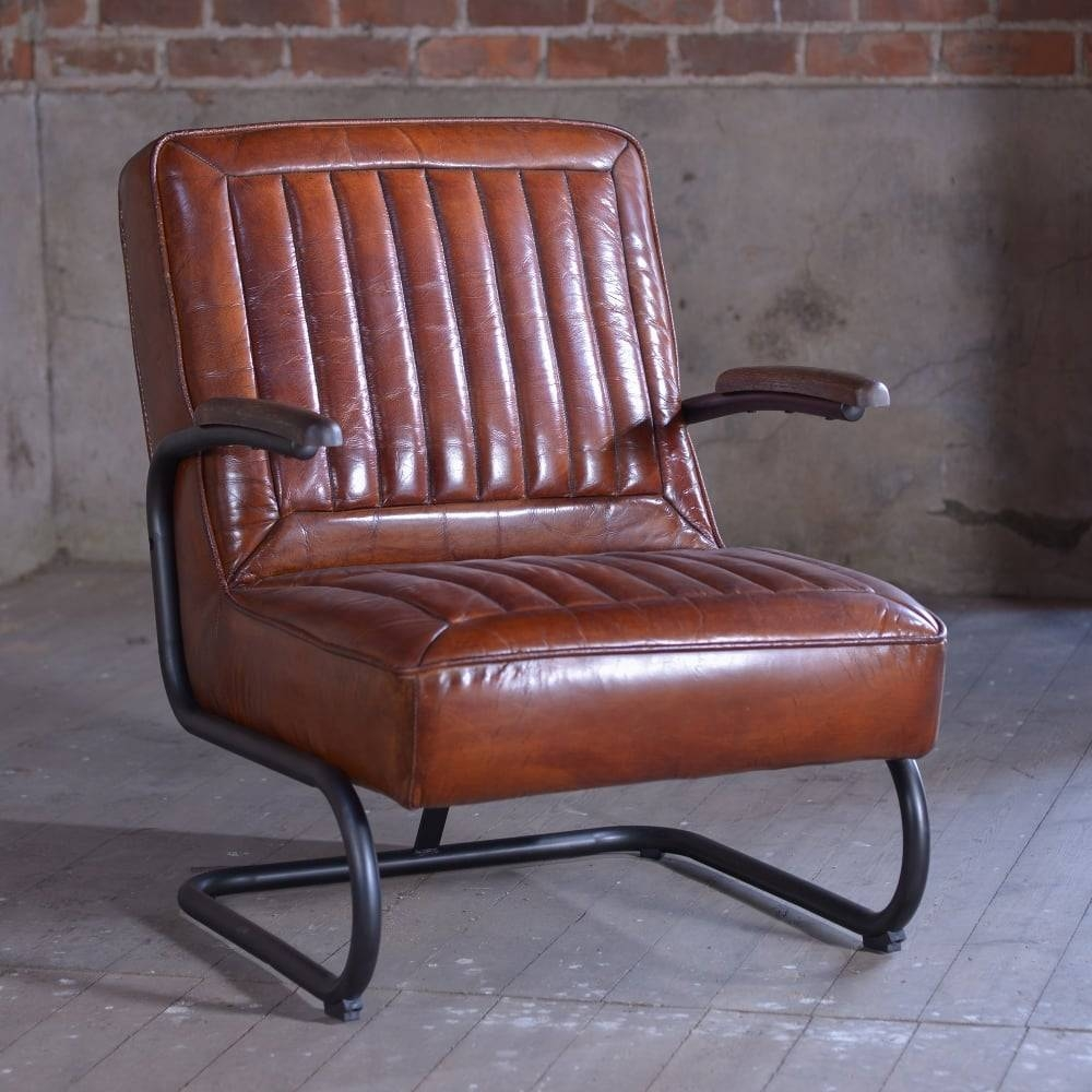 J.n. Rusticus Adler Retro Leather Chair - Furniture From J.n in Vintage Leather Armchairs (Image 9 of 30)