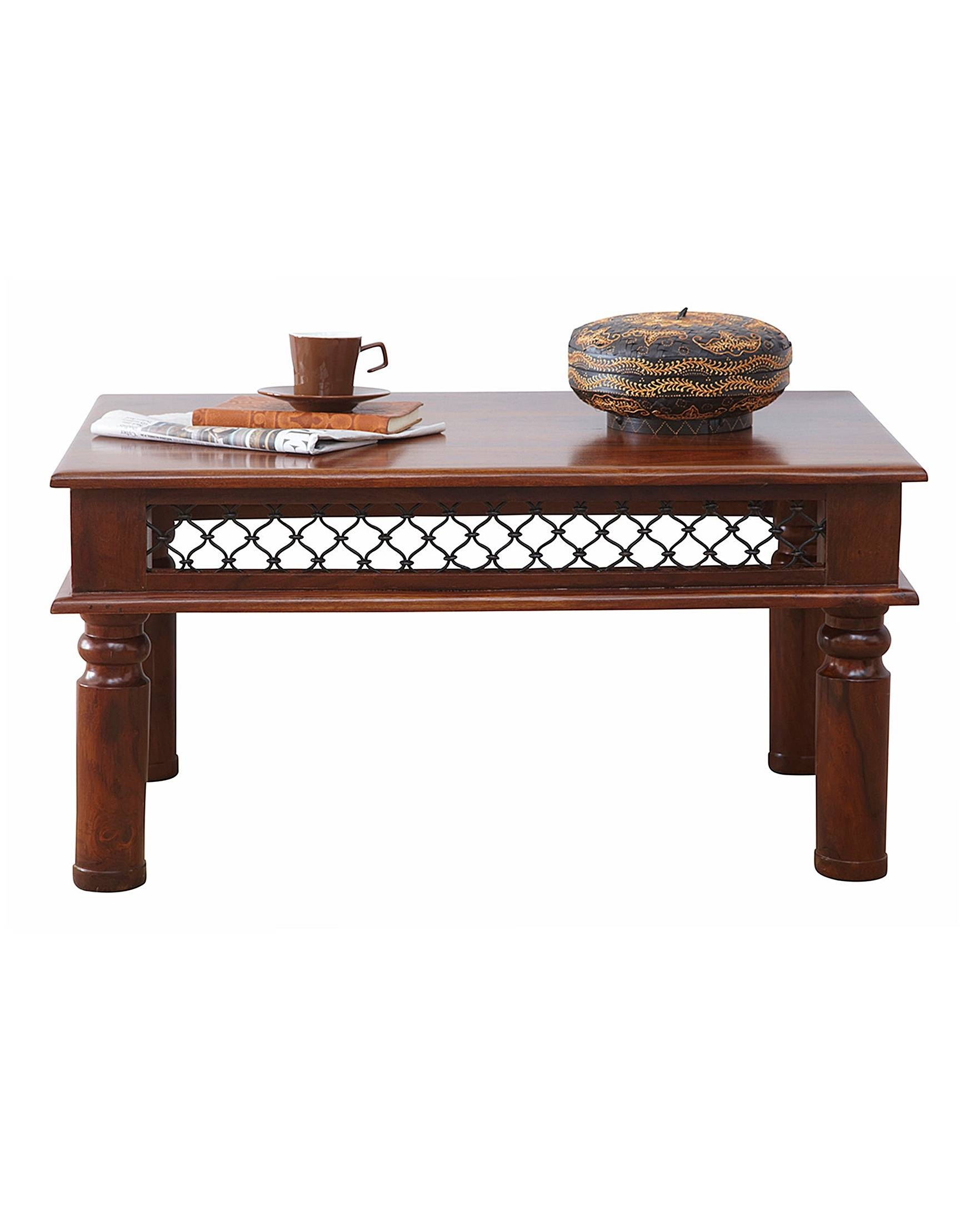 Jaipur Solid Sheesham Wood Coffee Table | J D Williams throughout Jaipur Sheesham Coffee Tables (Image 18 of 30)