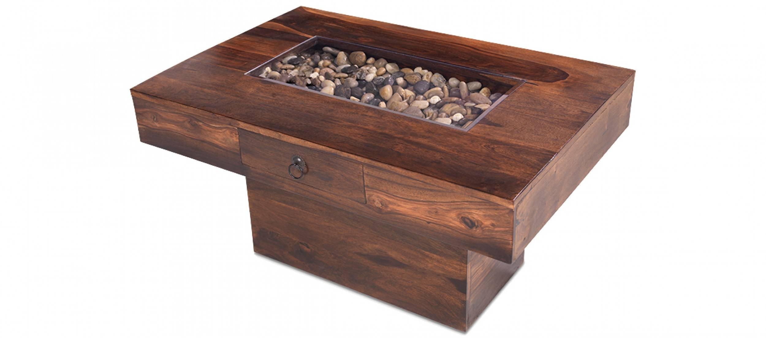 Jali Sheesham Large Pebble Coffee Table | Quercus Living throughout  Sheesham Coffee Tables (Image 12