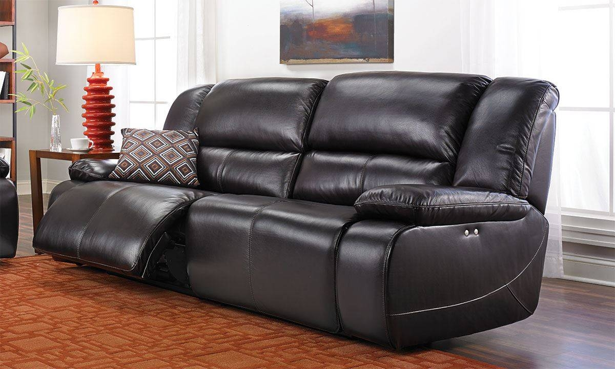 Jamison Leather Power Reclining Sofa | The Dump - America's with Recliner Sofa Chairs (Image 18 of 30)