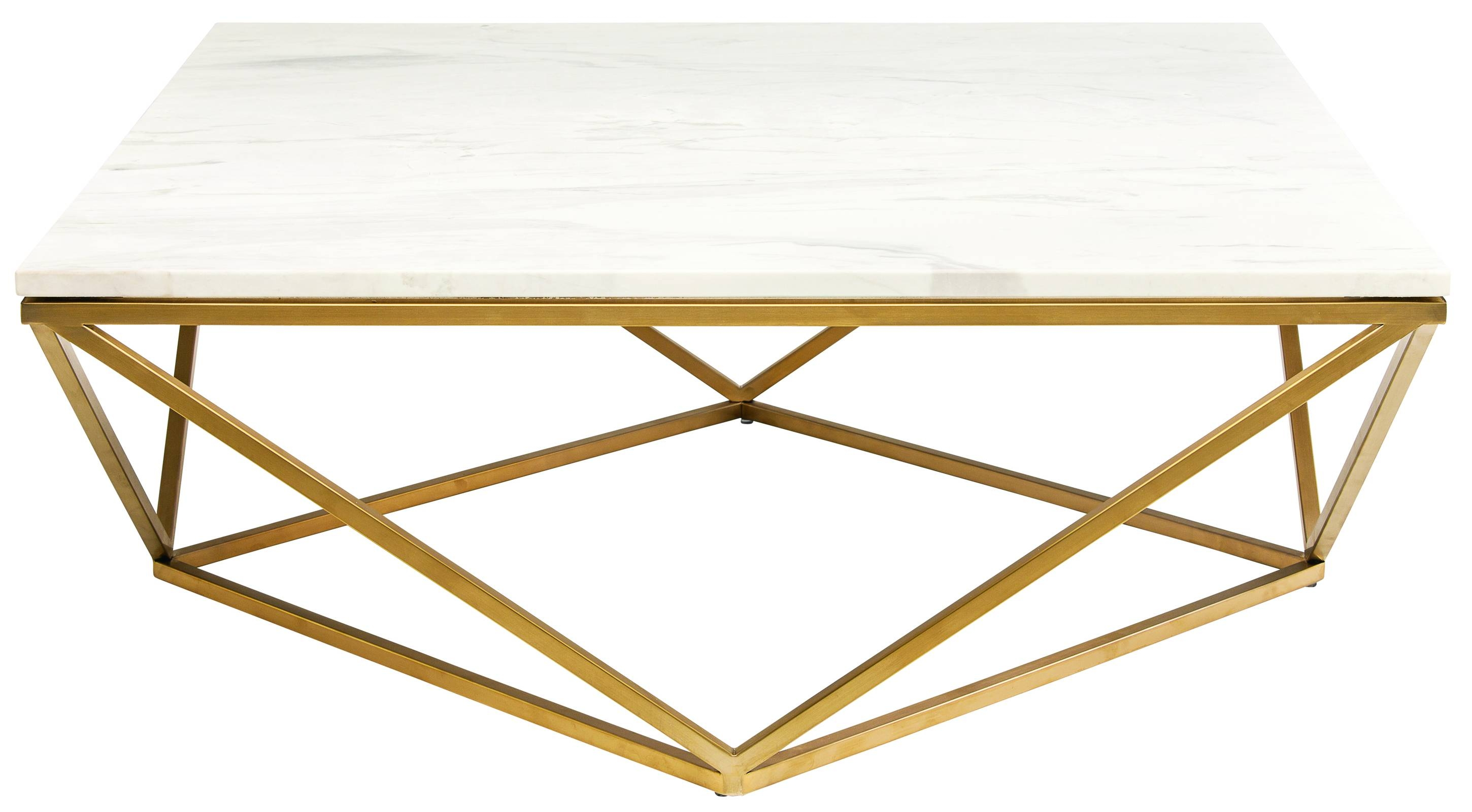 Jasmine Coffee Table In White Marble And Gold Basenuevo - Hgtb265 with regard to Marble Coffee Tables (Image 18 of 30)