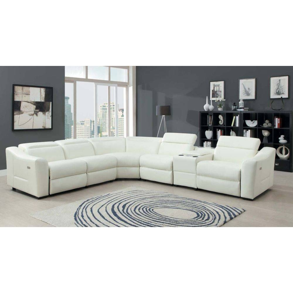 Jedd Fabric 6 Piece Power Reclining Sectional Sofa | Home Design Ideas With Regard To Jedd Fabric Reclining Sectional Sofa (Image 21 of 30)