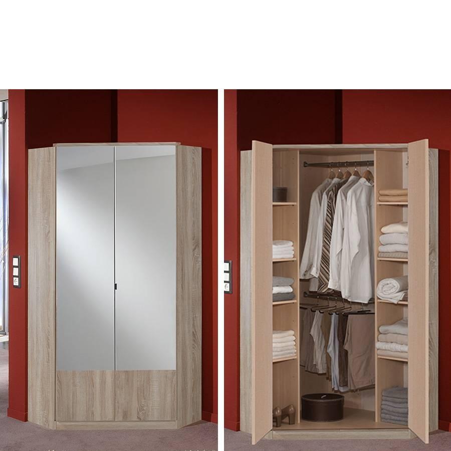 Jena Corner Wardrobe | Fully Assembled | The Bedroom Shop Ltd inside Corner Wardrobes (Image 11 of 15)