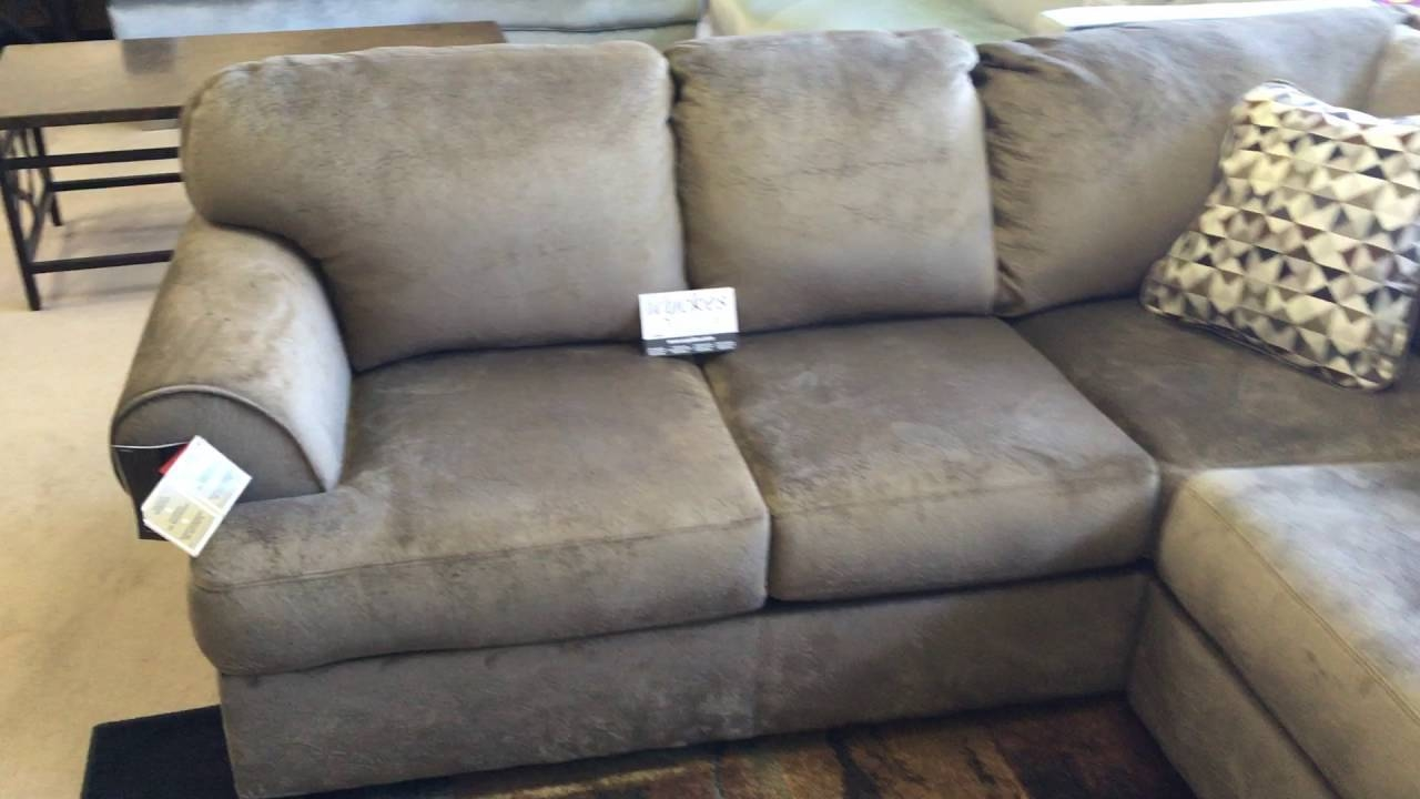 Jessa Place 398 Champion Microfiber Large Sectional Sofa - Youtube with regard to Champion Sectional Sofa (Image 11 of 30)
