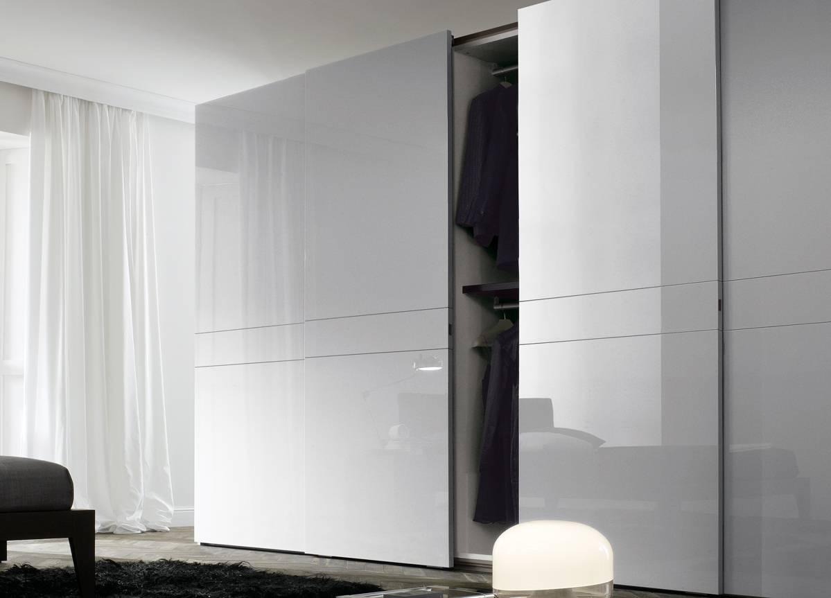 Jesse Numa Sliding Door Wardrobe - Jesse Wardrobes At Go Modern regarding Large Black Wardrobes (Image 8 of 15)