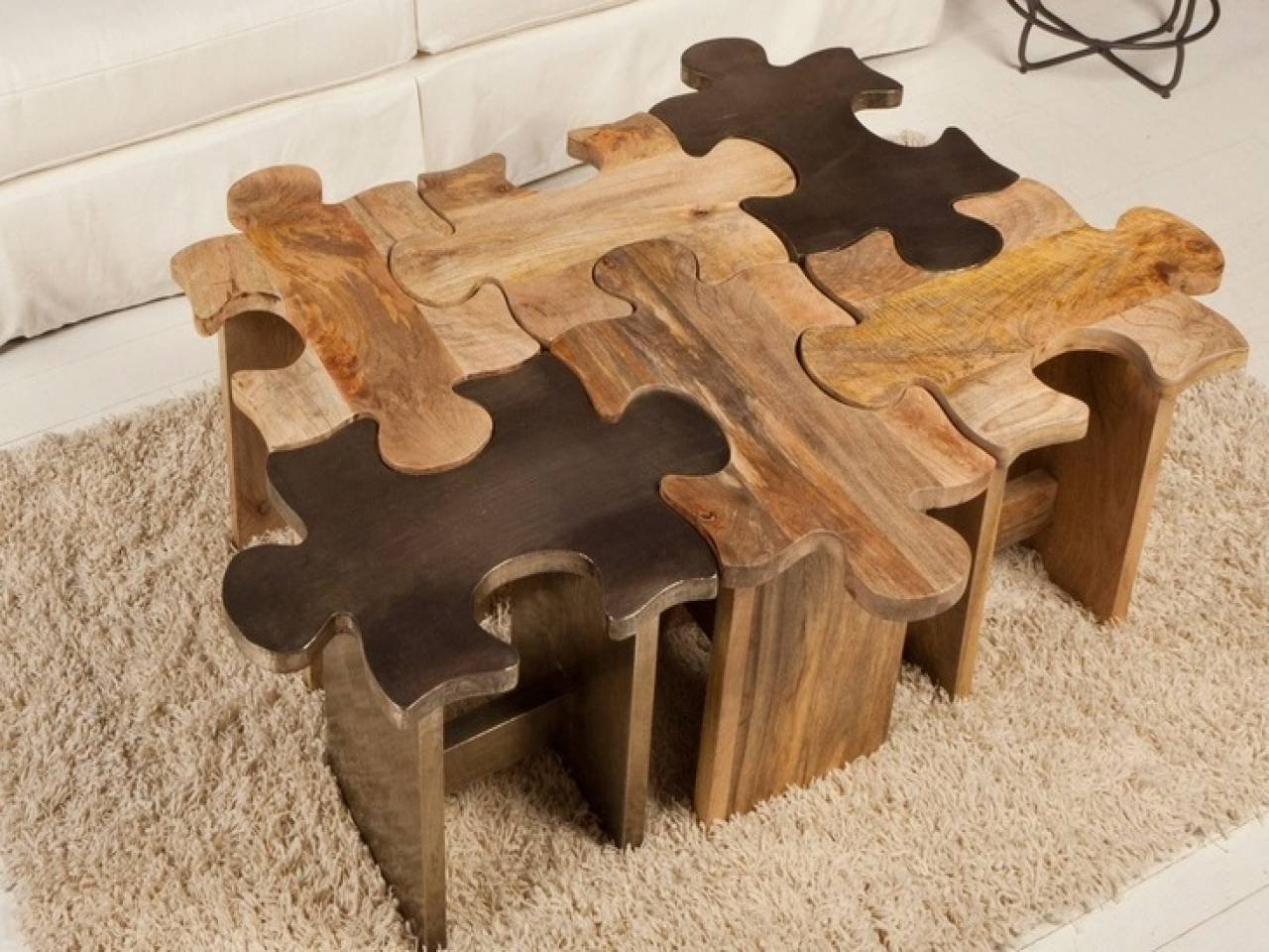 Jigsaw Puzzle Table With Drawers Tables - Tikspor pertaining to Puzzle Coffee Tables (Image 21 of 30)