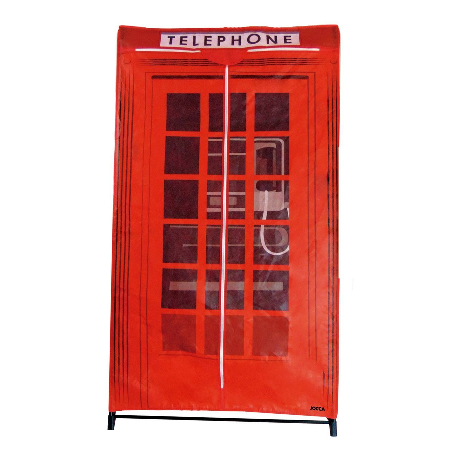 Jocca Tnt Wardrobe Telephone Box | Achica within Telephone Box Wardrobes (Image 6 of 15)