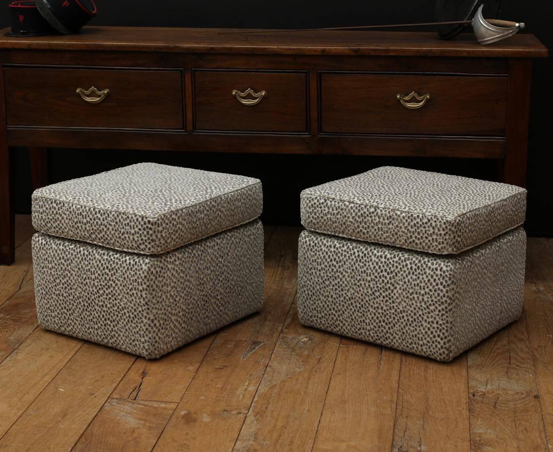 John Stephens | Upholstered Footstools inside Upholstered Footstools (Image 8 of 30)