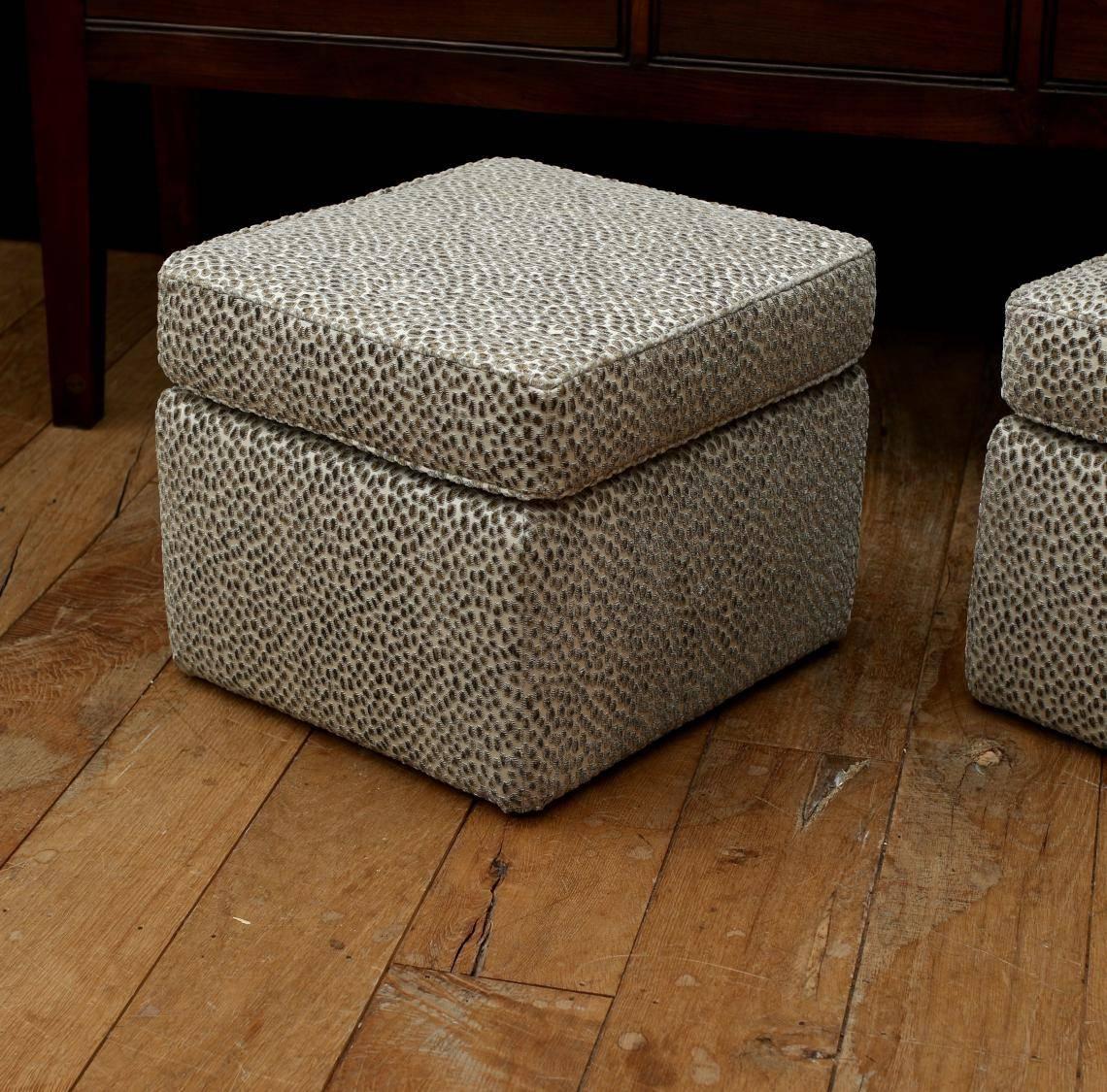 John Stephens | Upholstered Footstools regarding Upholstered Footstools (Image 9 of 30)