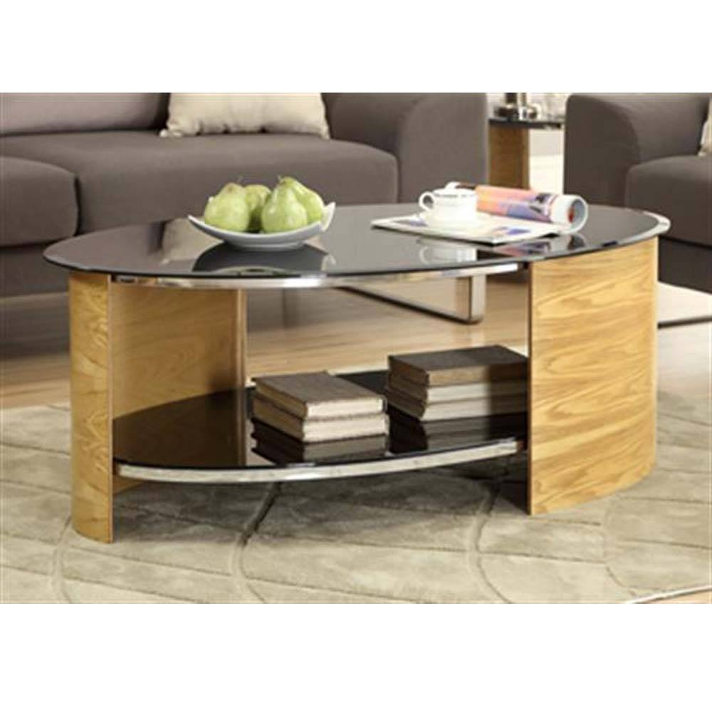 Jual Curve Oak Jf301 Coffee Tables (View 22 of 30)