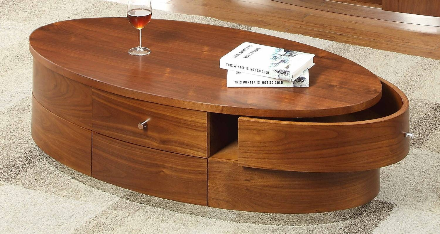 Jual Curve Walnut Coffee Table Jf607 | Oak Furniture Solutions Inside Curve Coffee Tables (View 23 of 30)