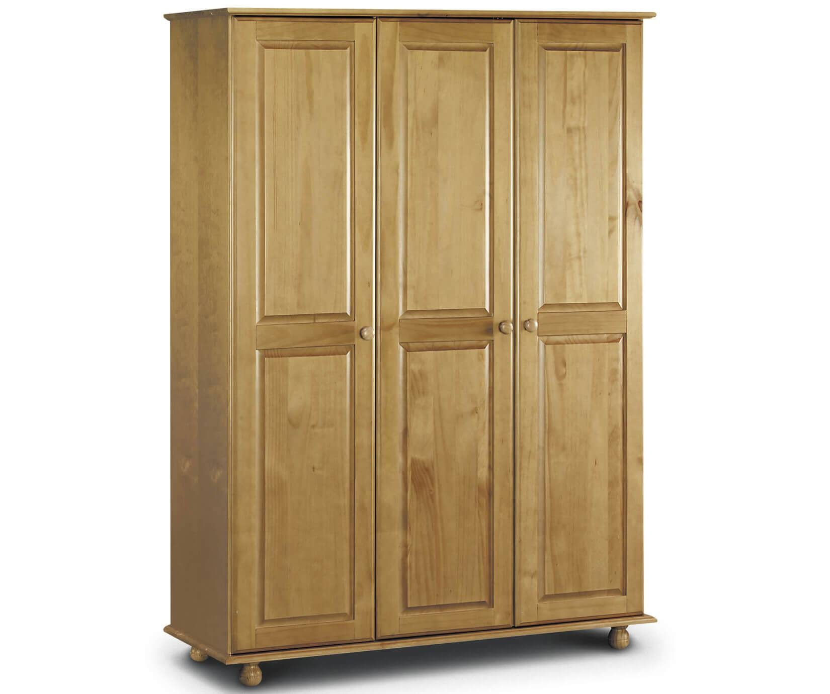 Julian Bowen Pickwick | Pickwick 3 Door Wardrobe | Bedsdirectuk for Julian Bowen Wardrobes (Image 7 of 15)