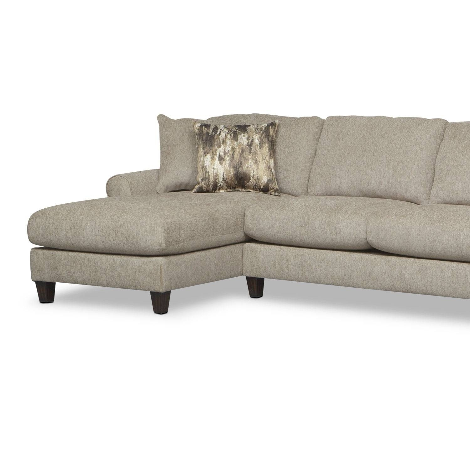 Karma 3-Piece Sectional With Right-Facing Cuddler And Left-Facing in Sectional Sofa With Cuddler Chaise (Image 11 of 25)