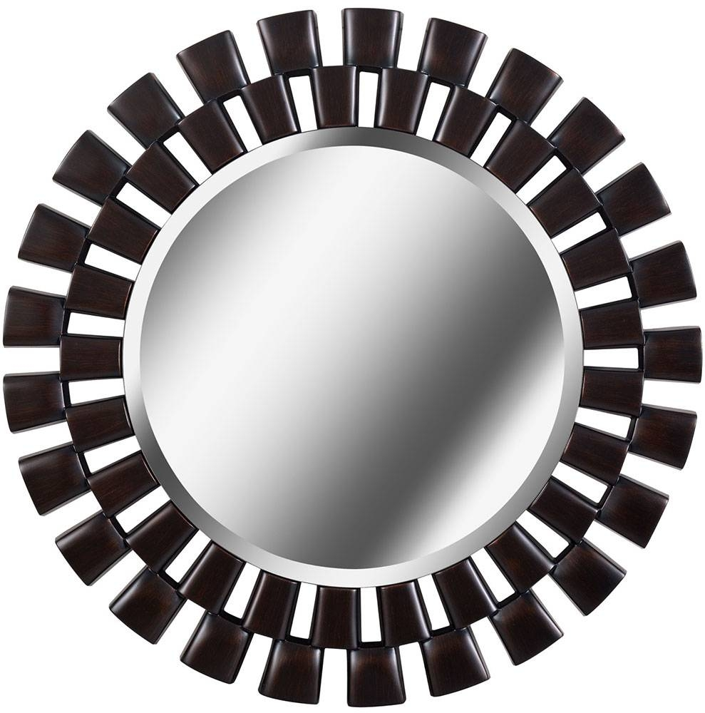 Kenroy Home 60019Orb Gilbert Oil Rubbed Bronze Wall Mirror - Ken throughout Bronze Wall Mirrors (Image 11 of 25)