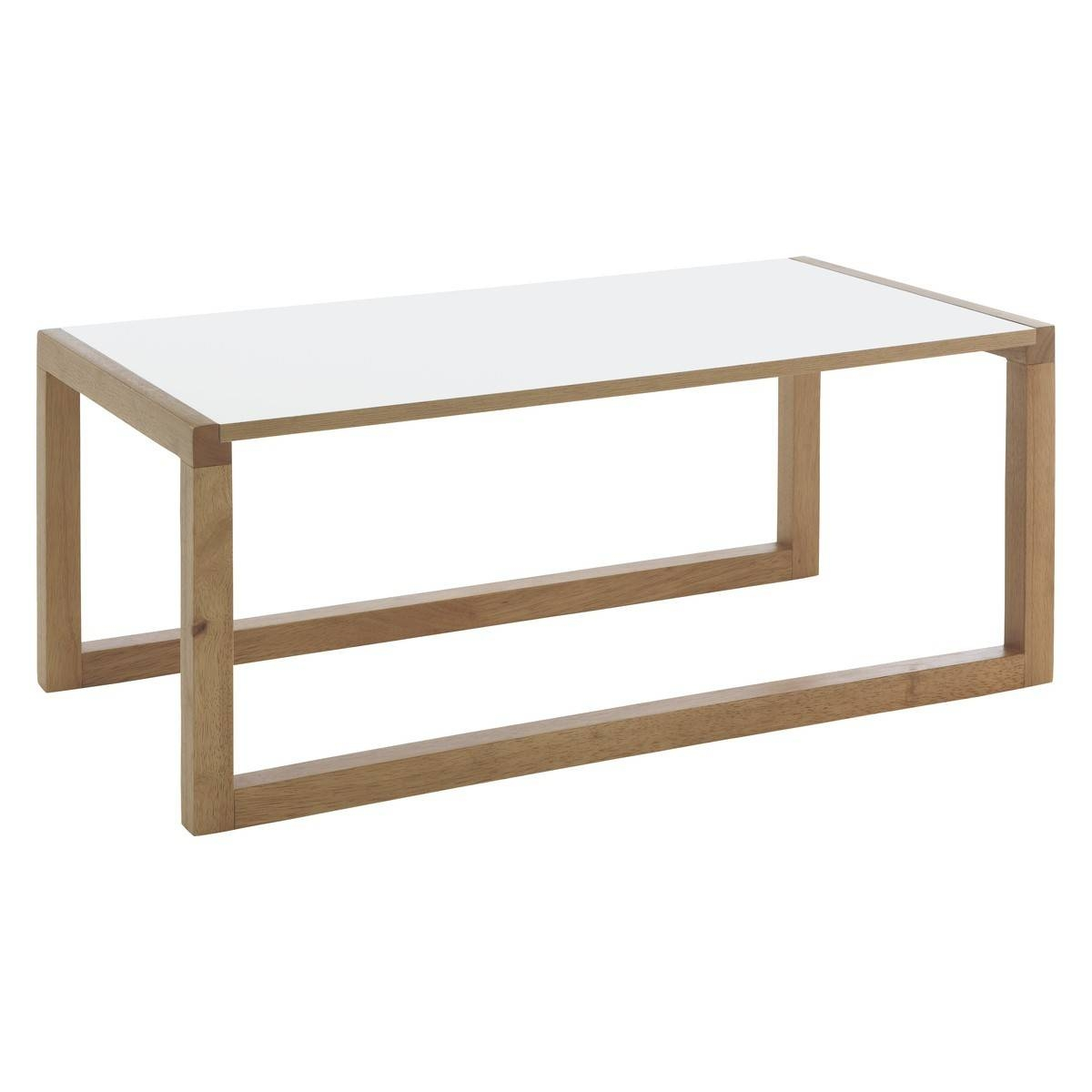 Kenstal White Long Coffee Table | Buy Now At Habitat Uk in Long Coffee Tables (Image 7 of 15)