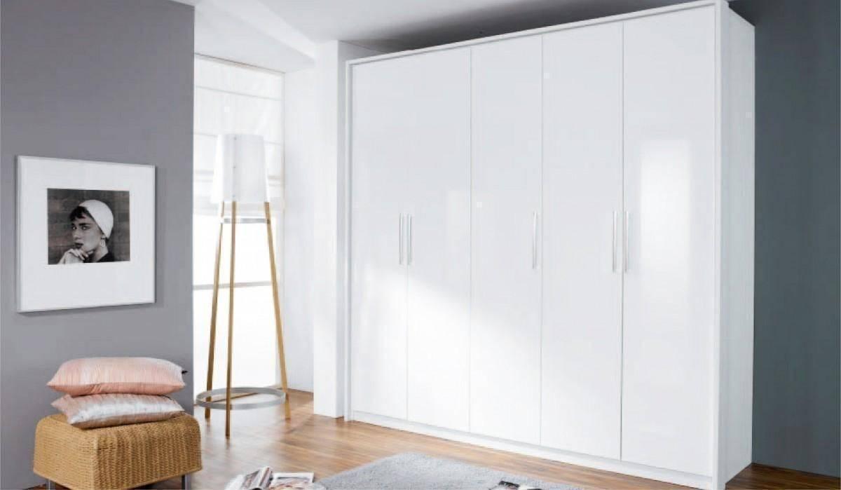 Kent 5 Doors 1 Mirror Wardrobe – 58d9 | Shawn Furniture With Regard To Kent Wardrobes (View 14 of 15)