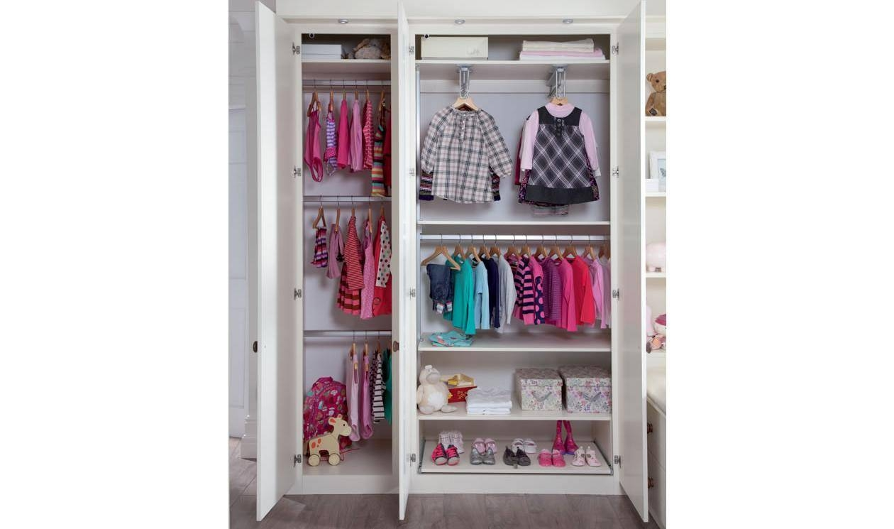 Kids Bedroom Furniture - Childrens Bedroom Designssharps for Double Hanging Rail Wardrobes (Image 13 of 30)