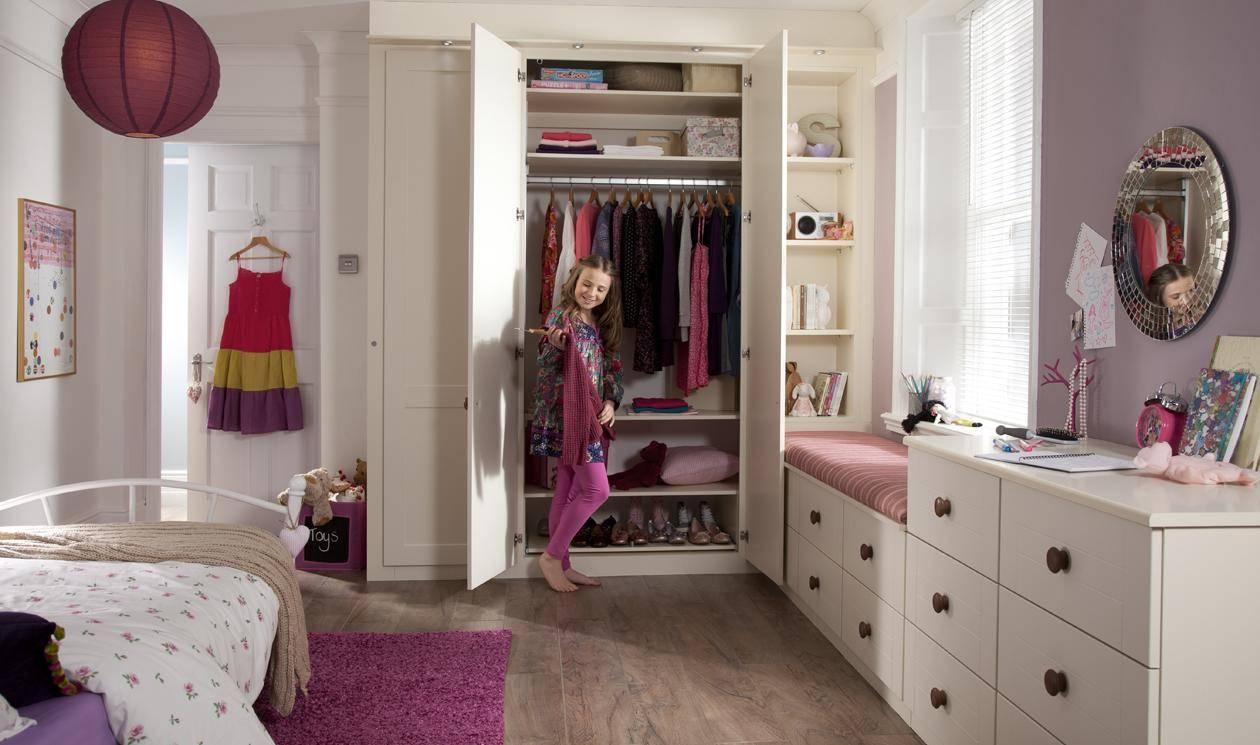 Kids Bedroom Furniture – Childrens Bedroom Designssharps Inside Childrens Double Rail Wardrobes (View 24 of 30)