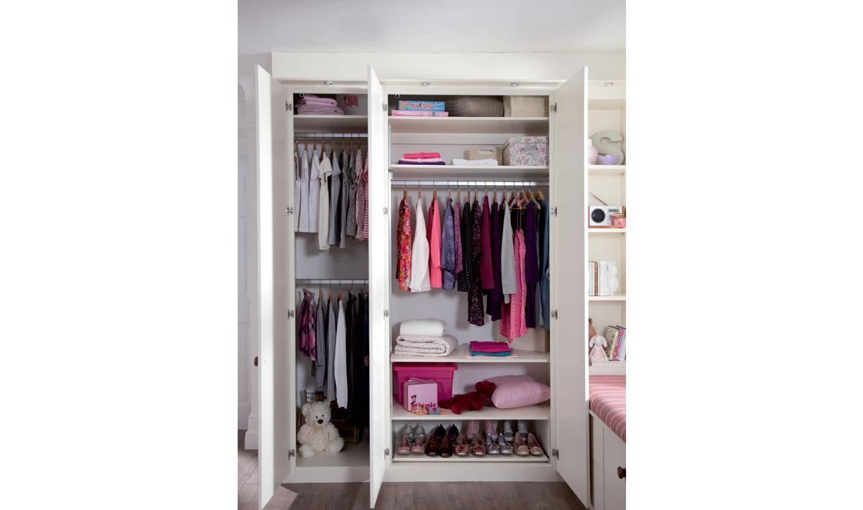 Kids Bedroom Furniture – Childrens Bedroom Designssharps Intended For Double Rail Wardrobes (View 5 of 30)