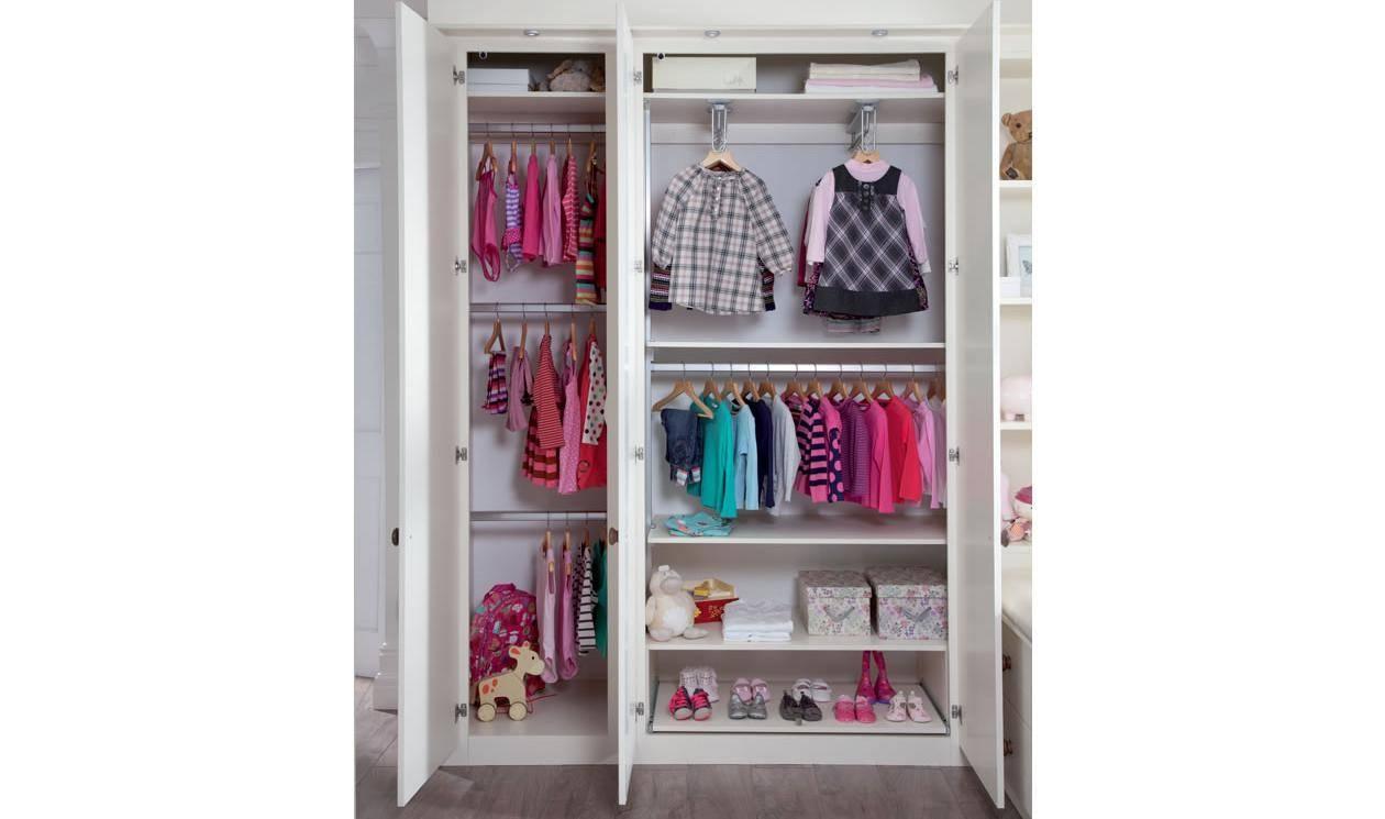 Kids Bedroom Furniture – Childrens Bedroom Designssharps Throughout Childrens Double Rail Wardrobes (View 25 of 30)