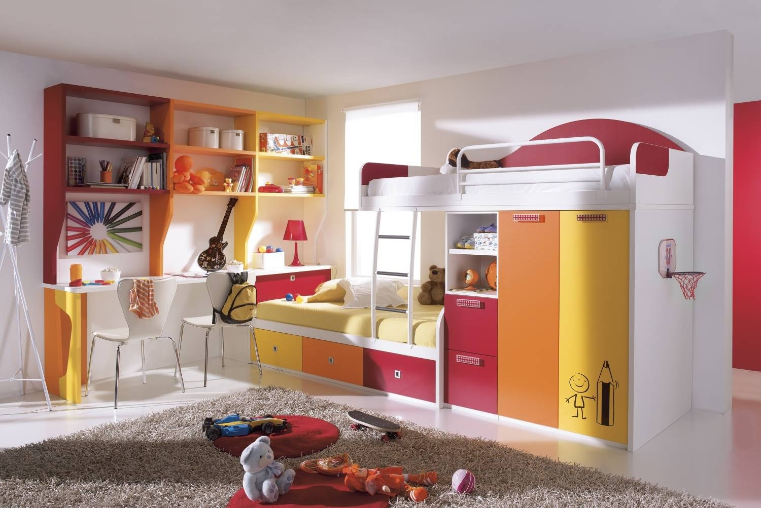 Kids' Bedroom Furniture Collection, Cabin Beds And Bunk Beds With with regard to Childrens Bed With Wardrobes Underneath (Image 12 of 15)