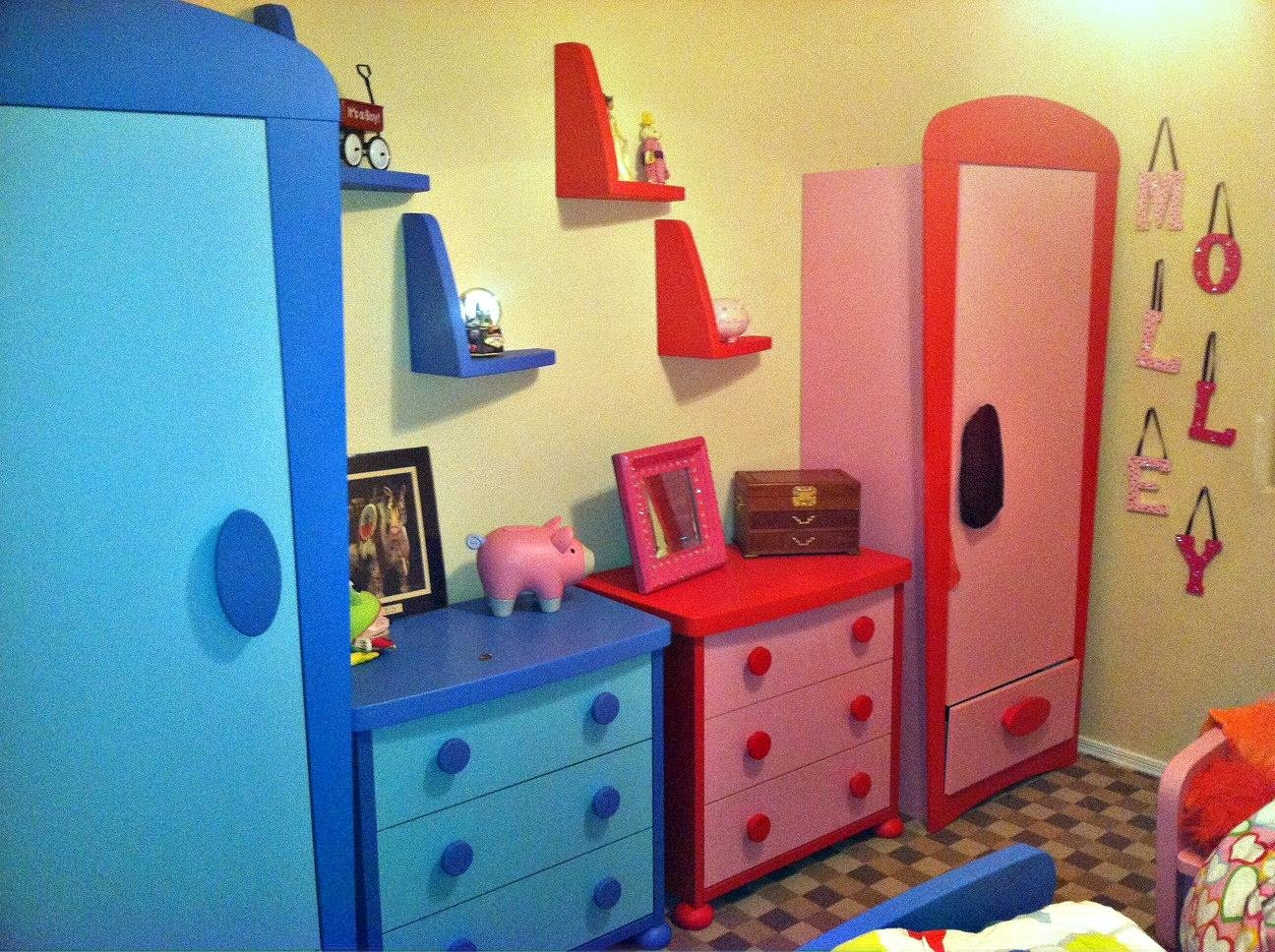 Kids Bedroom Sets Ikea for Childrens Pink Wardrobes (Image 16 of 30)