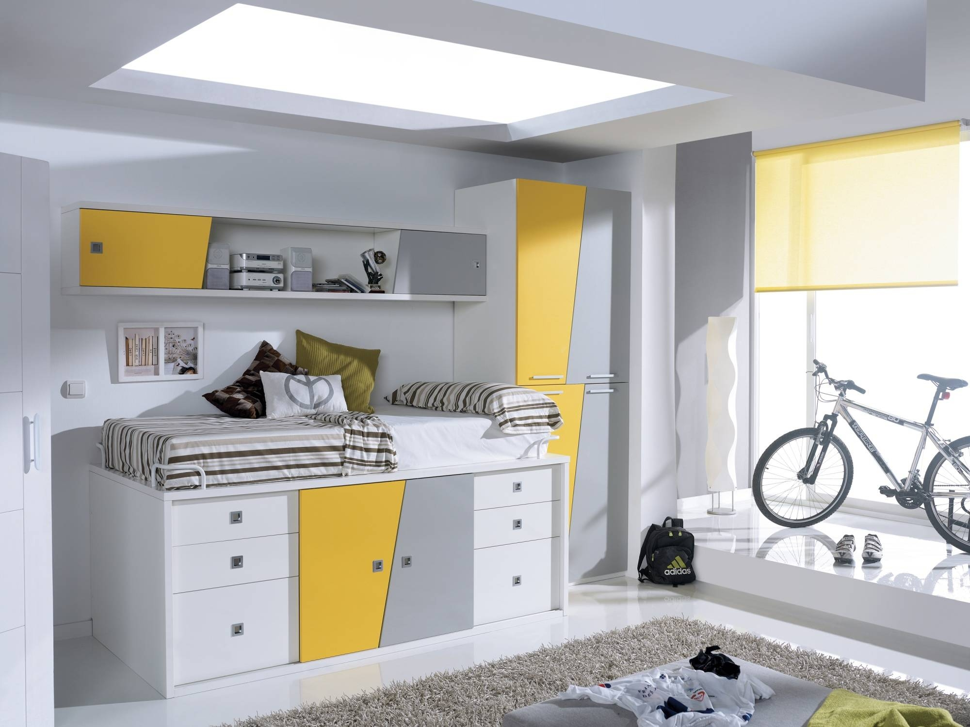 Kids Beds | Amazing Quality Beds For Children | Cabin Beds | Mid within Kids Cabin Beds With Wardrobes (Image 10 of 15)