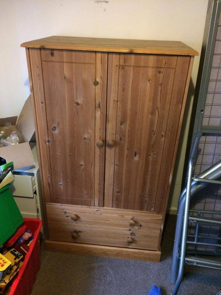Kids Solid Pine Wardrobe | In Leicester, Leicestershire | Gumtree regarding Kids Pine Wardrobes (Image 13 of 15)