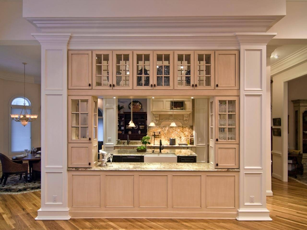 Kitchen: Kitchen Hutch Cabinets For Efficient And Stylish Storage with 12 Inch Deep Sideboards (Image 19 of 30)