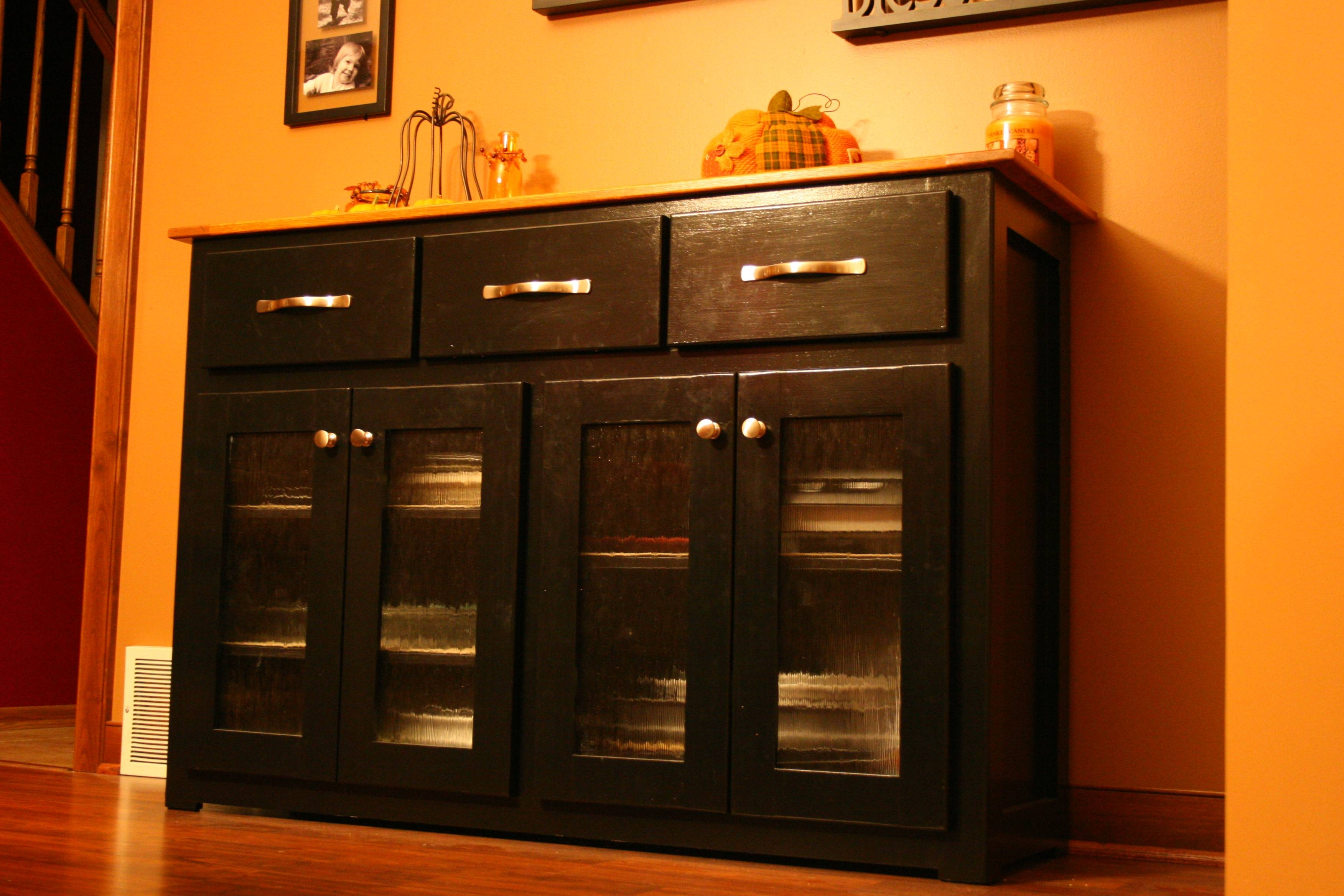 Kitchen Sideboards Designs — Readingworks Furniture : Kitchen with Cheap Black Sideboards (Image 13 of 30)