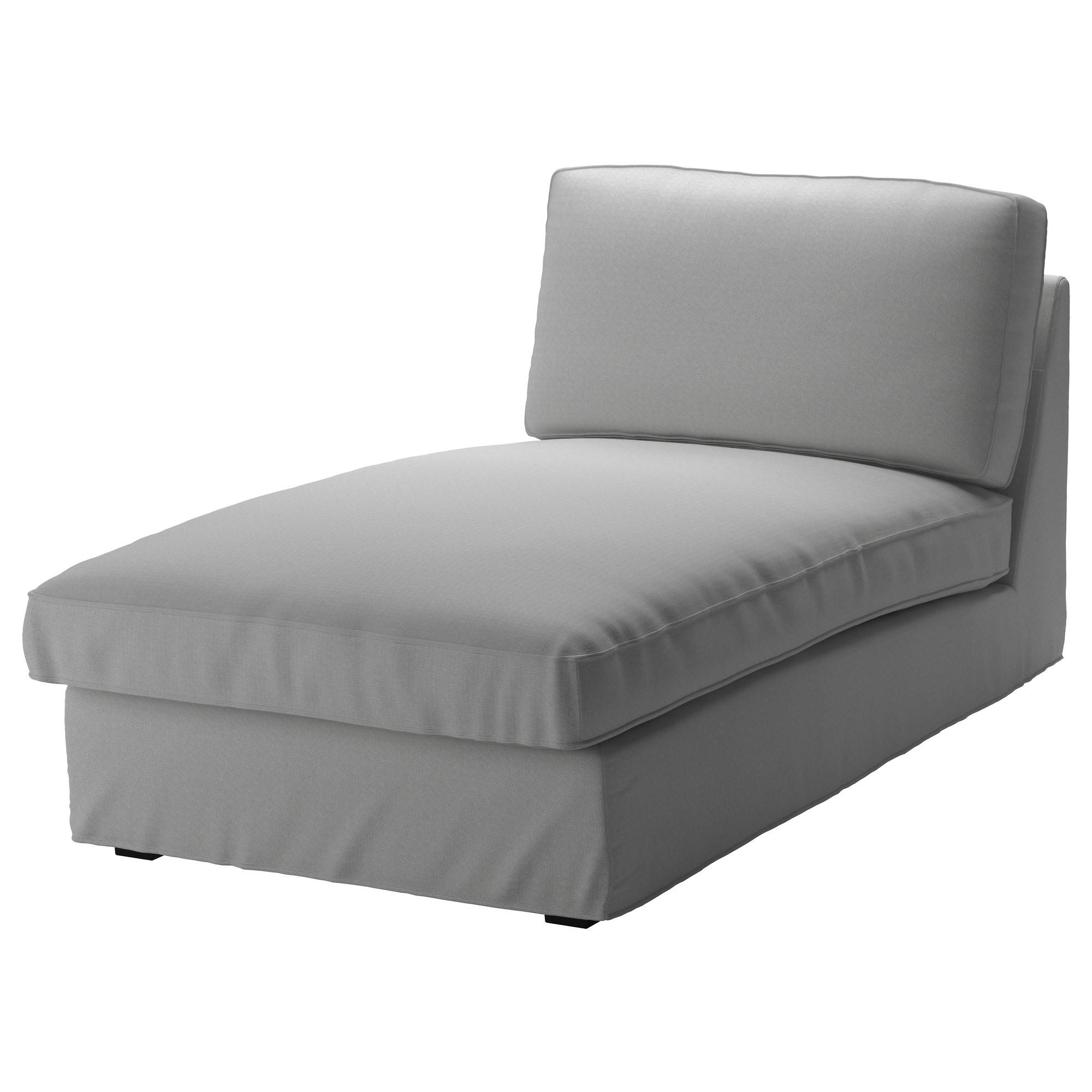 Kivik Chaise Cover - Orrsta Light Gray - Ikea inside Ikea Chaise Lounge Sofa (Image 20 of 30)