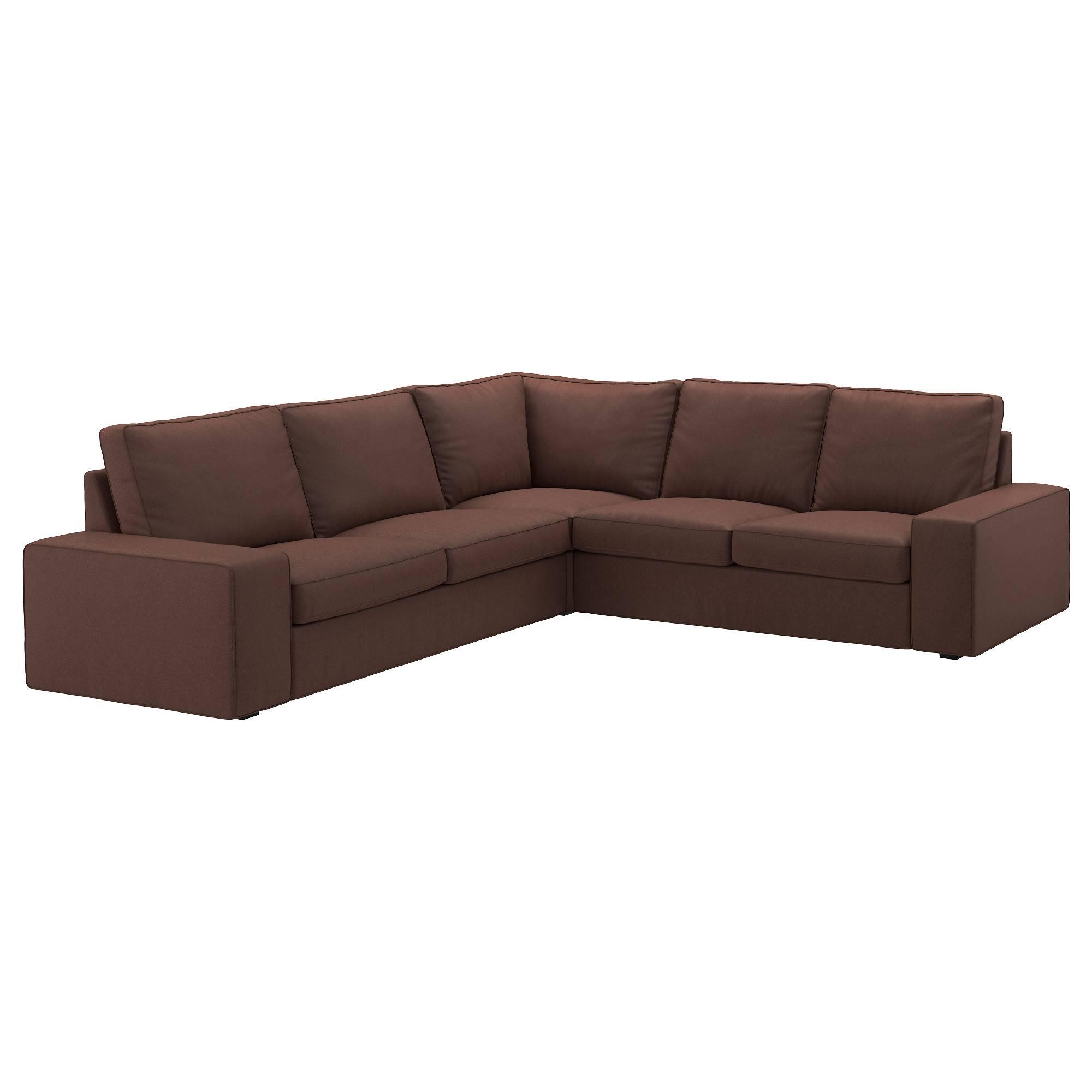 Kivik Corner Sofa 2+2 - Orrsta Light Grey - Ikea intended for 2X2 Corner Sofas (Image 18 of 30)