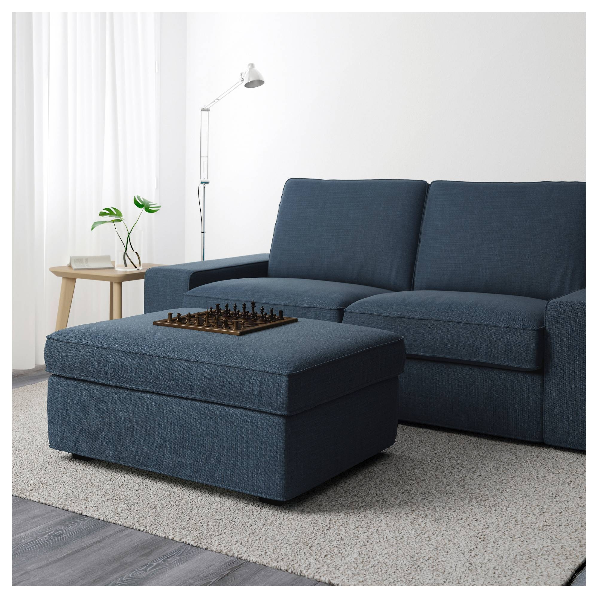 Kivik Ottoman With Storage - Orrsta Light Gray - Ikea intended for Ikea Sofa Storage (Image 20 of 25)
