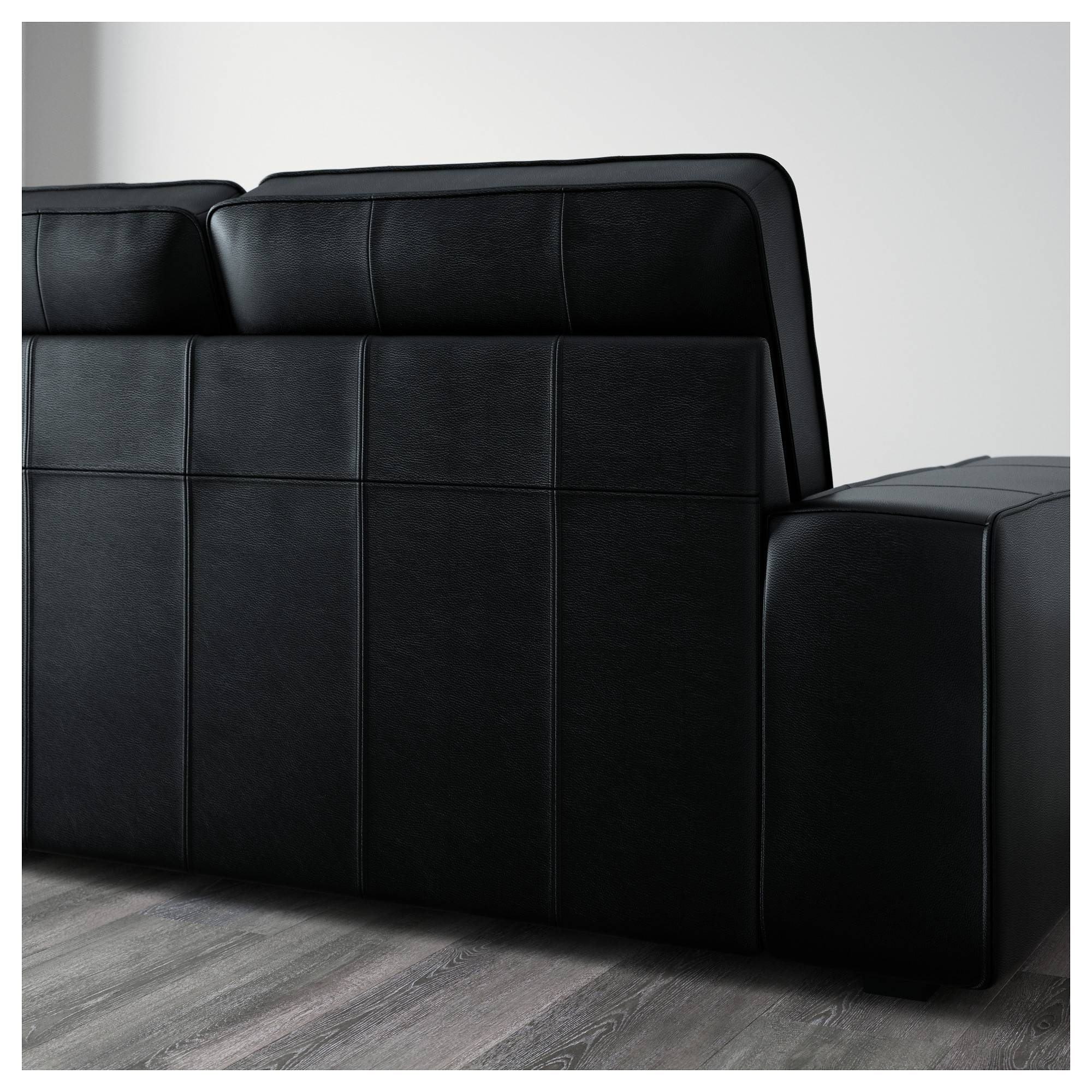 Kivik Sofa, U-Shaped 8-Seater/grann/bomstad Black - Ikea regarding Ikea Two Seater Sofas (Image 12 of 30)