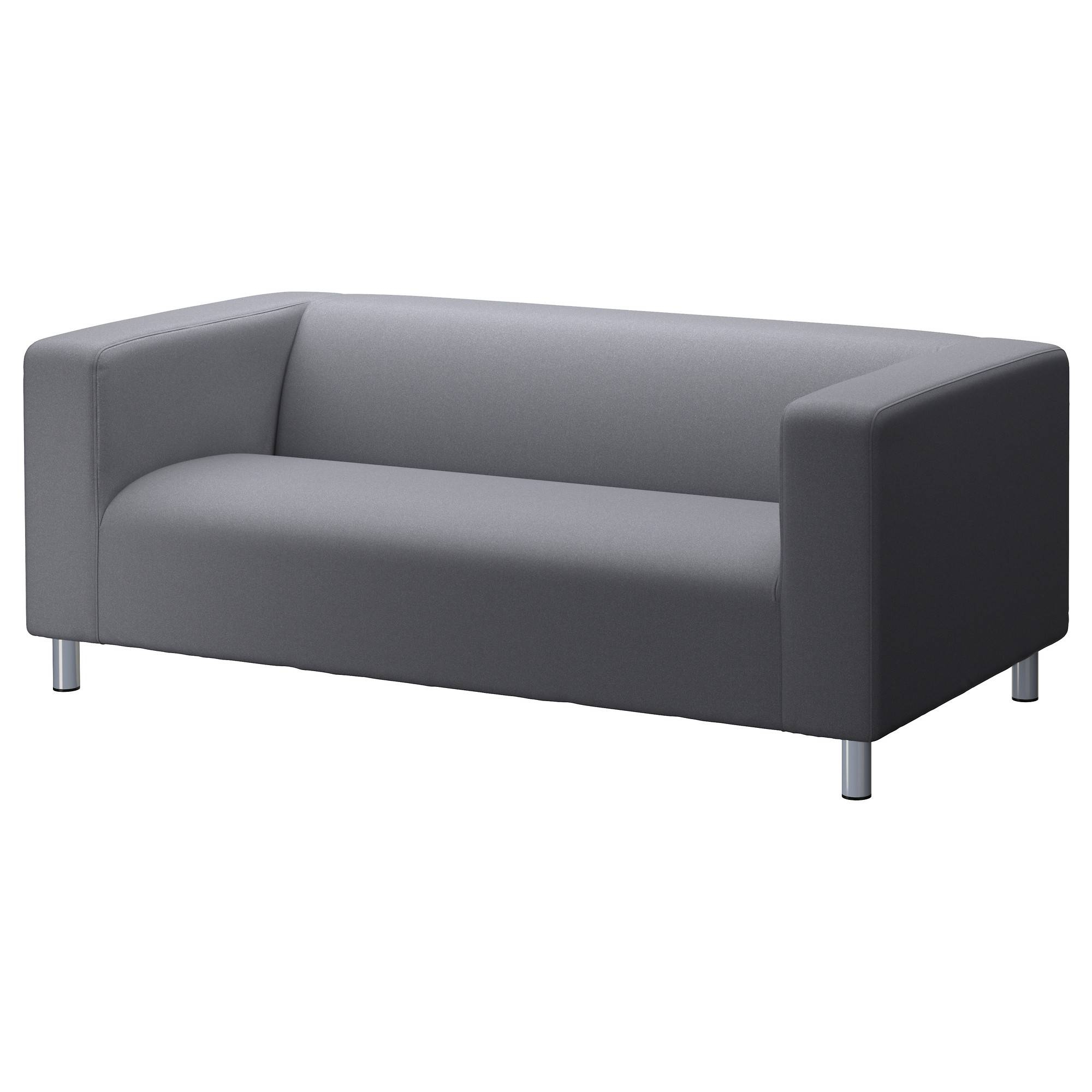 Klippan Two-Seat Sofa Flackarp Grey - Ikea with regard to Two Seater Sofas (Image 16 of 30)