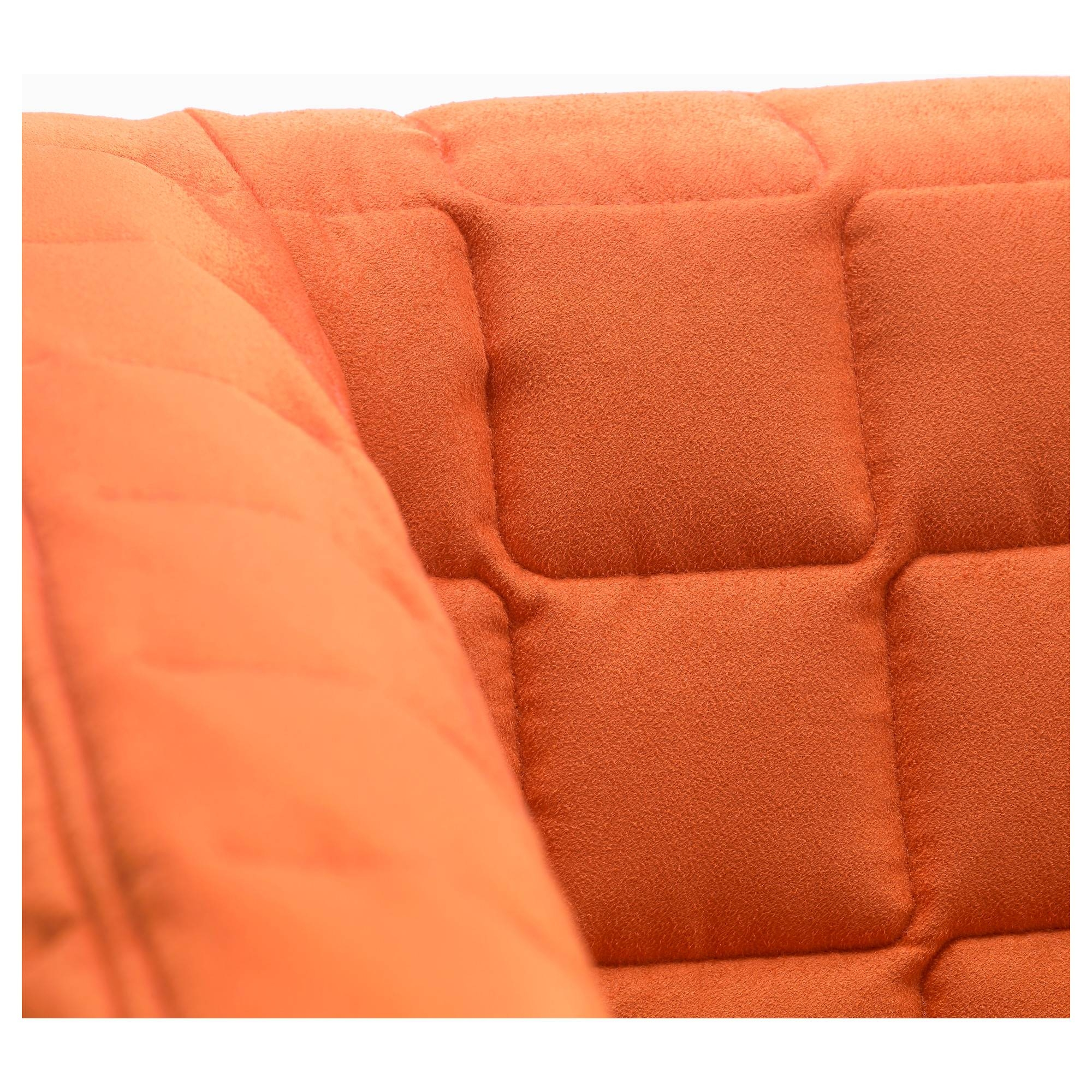 Knopparp 2-Seat Sofa Orange - Ikea for Orange Ikea Sofas (Image 19 of 30)