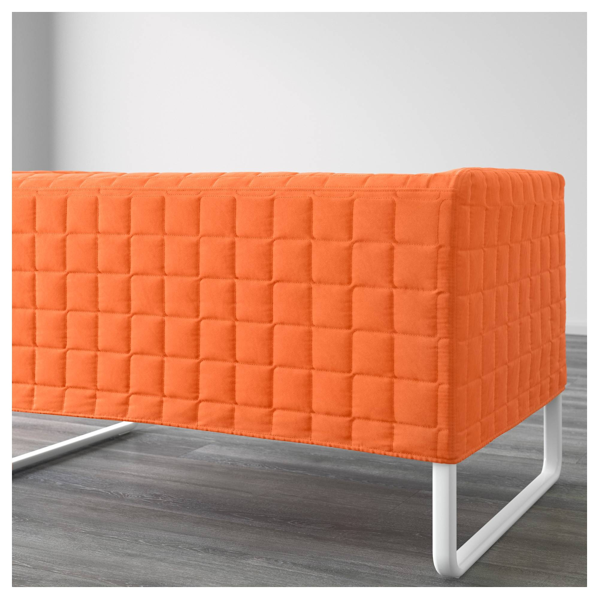 Knopparp 2-Seat Sofa Orange - Ikea with Orange Ikea Sofas (Image 20 of 30)