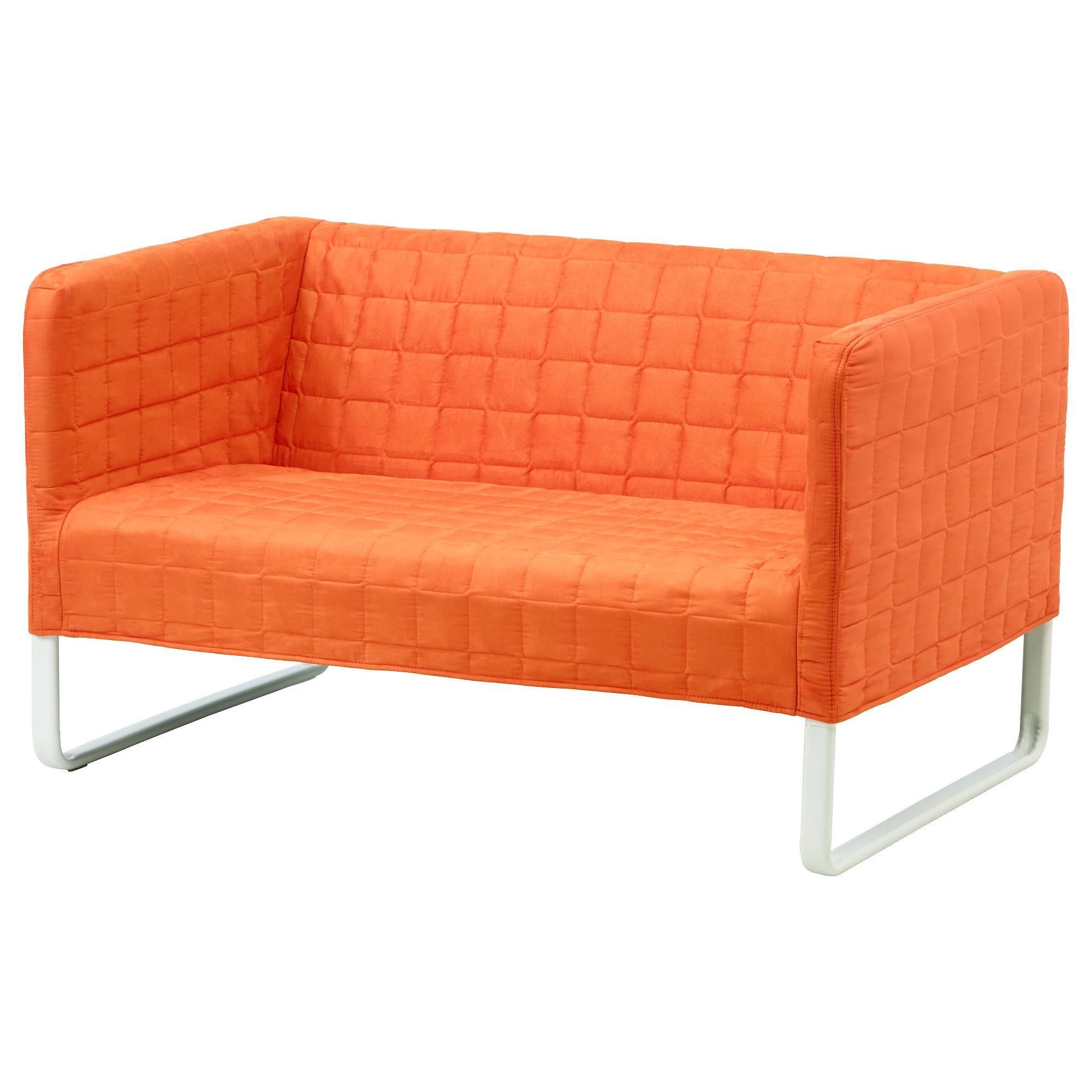Knopparp 2-Seat Sofa Orange - Ikea with regard to Small Sofas Ikea (Image 16 of 30)