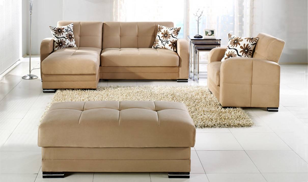 Kubo Convertible Sectional Sofa In Rainbow Dark Beigeistikbal regarding Convertible Sectional Sofas (Image 15 of 30)