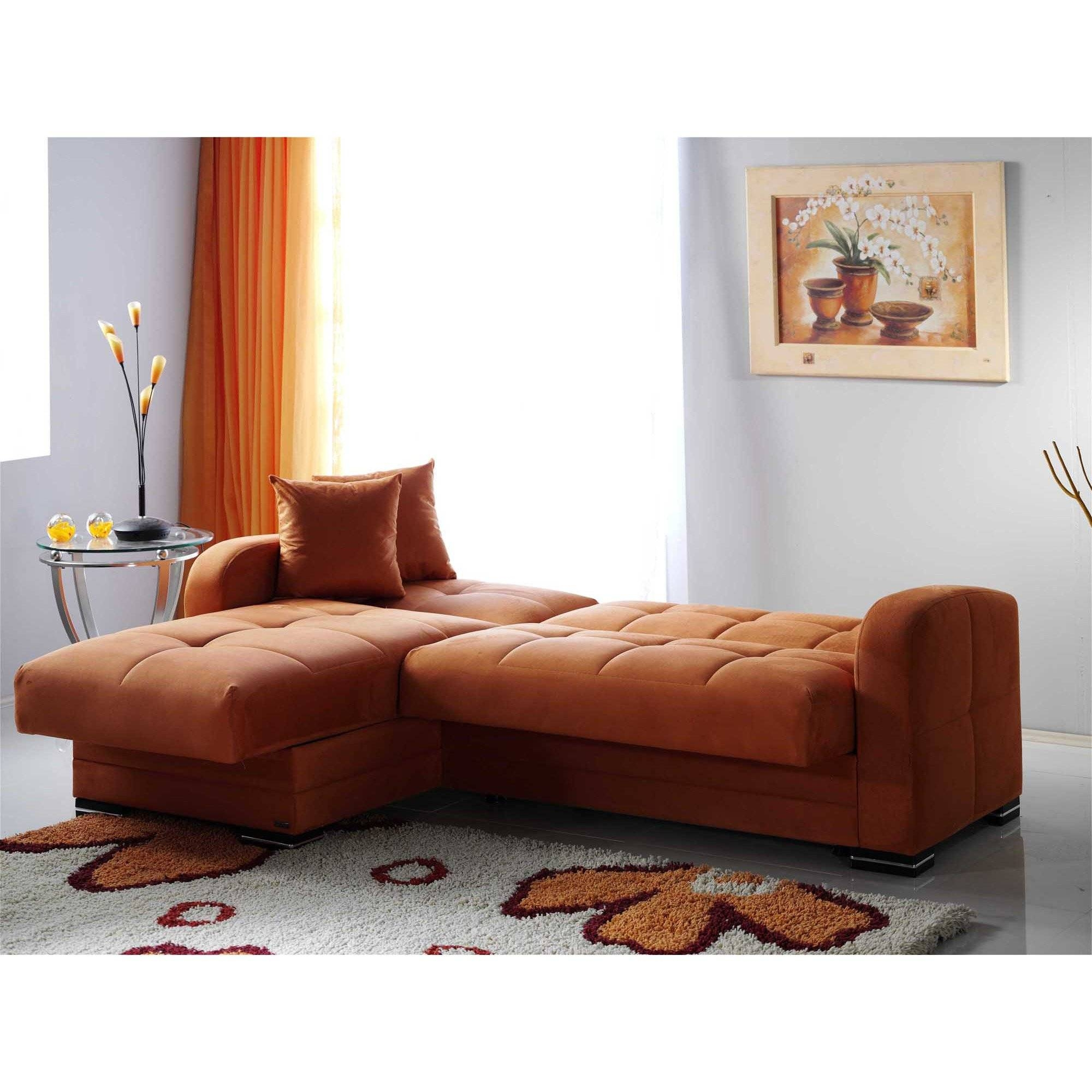 Kubo Rainbow Orange Sectional Sofasunset with Orange Sectional Sofa (Image 23 of 30)