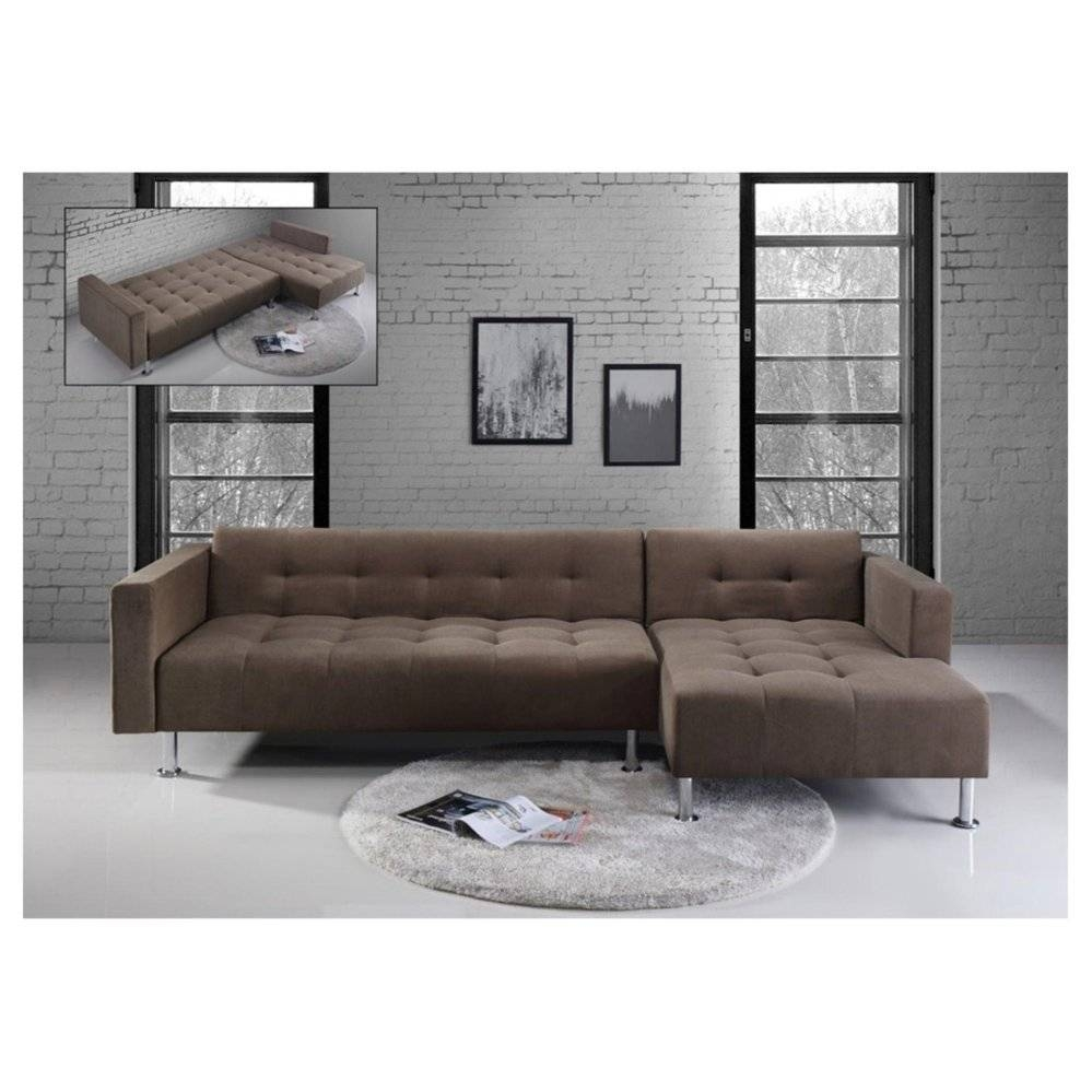 L Shaped Sofa Beds - Leather Sectional Sofa within L Shaped Sofa Bed (Image 16 of 30)