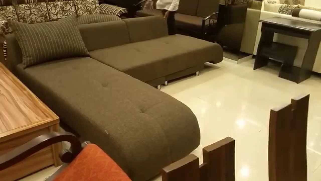 L Shaped Sofa Cum Bed In Mumbai - Youtube pertaining to L Shaped Sofa Bed (Image 17 of 30)