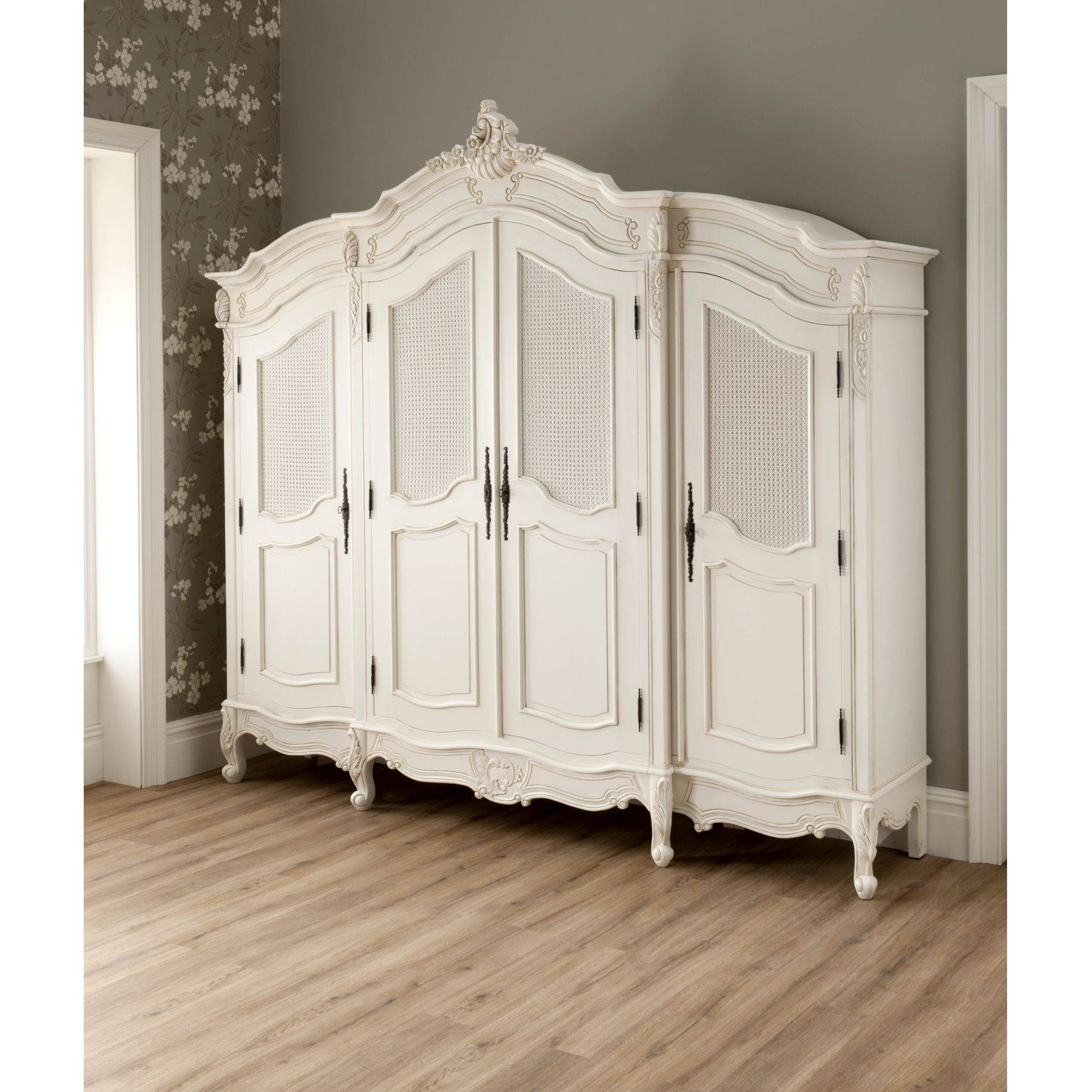 La Rochelle Antique French Wardrobe Works Wonderful Complimented throughout Victorian Style Wardrobes (Image 7 of 15)