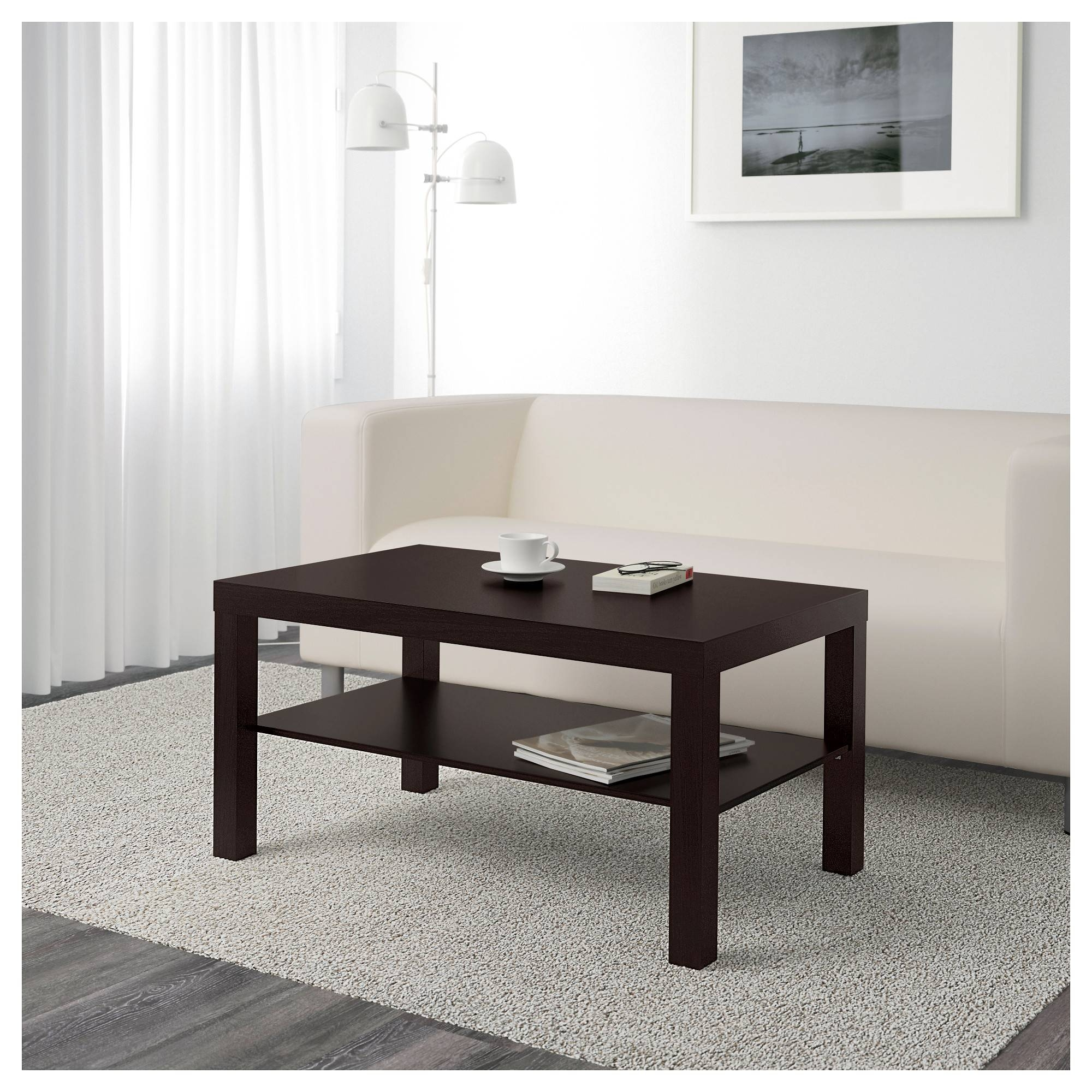"Lack Coffee Table - Birch Effect, 35 3/8X21 5/8 "" - Ikea in Birch Coffee Tables (Image 14 of 30)"
