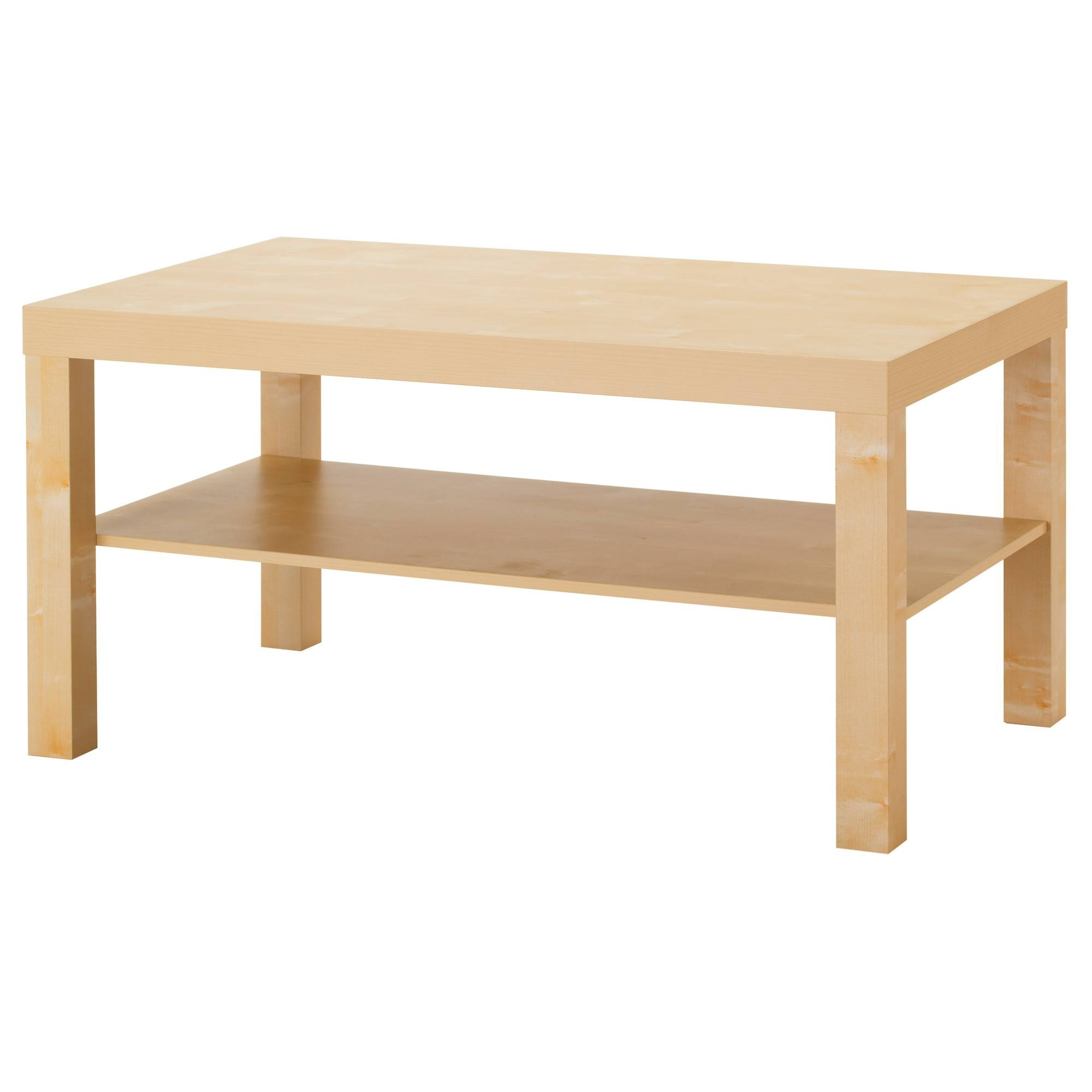 "Lack Coffee Table - Birch Effect, 35 3/8X21 5/8 "" - Ikea within Birch Coffee Tables (Image 17 of 30)"