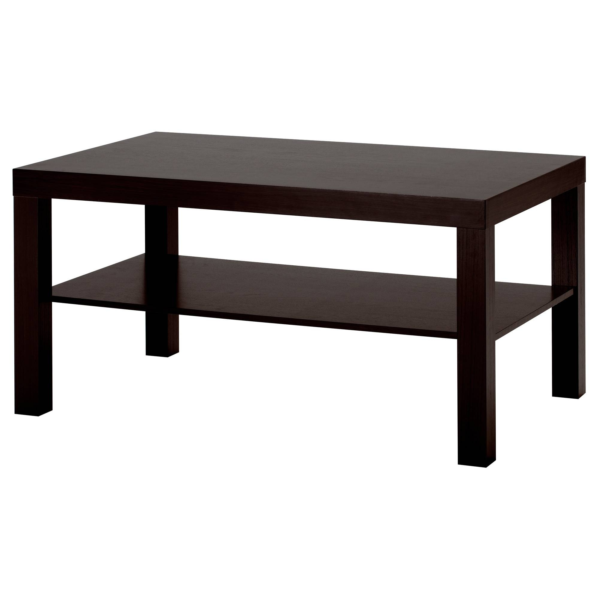 "Lack Coffee Table - White, 35X22X18"" - Ikea within Glass And Black Coffee Tables (Image 21 of 30)"